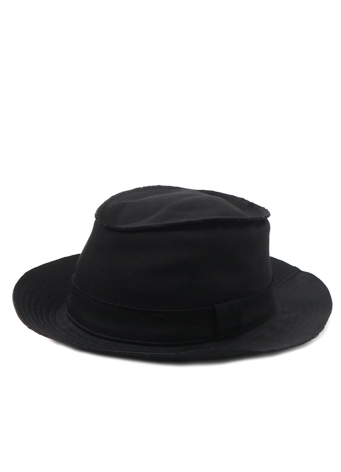 W/GABARDINE HORSESHOE HAT