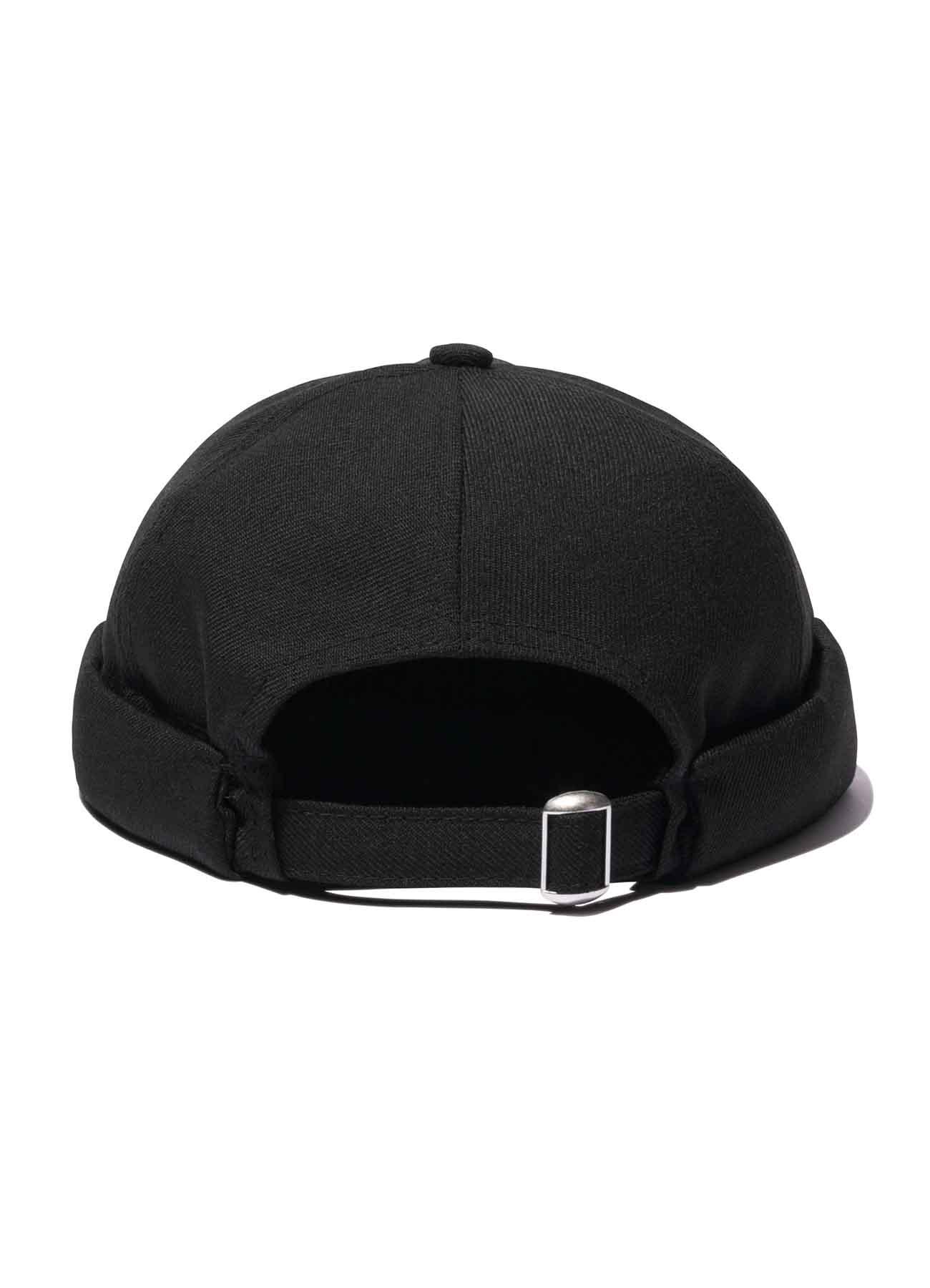 Yohji Yamamoto × New Era WOOL BLACK FISHERMAN CAP