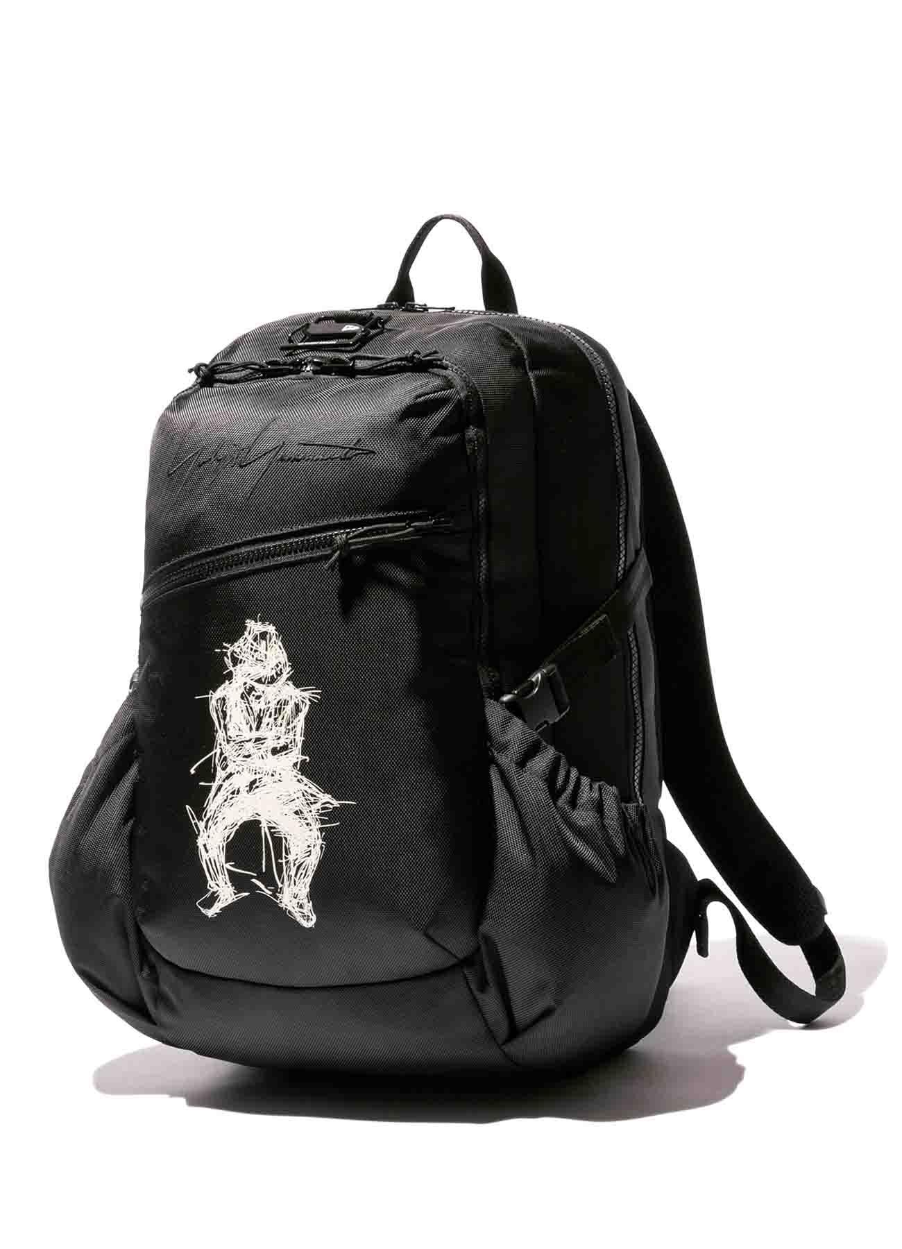 Yohji Yamamoto × New Era 1680D/BLACK POLYESTER URBAN PACK
