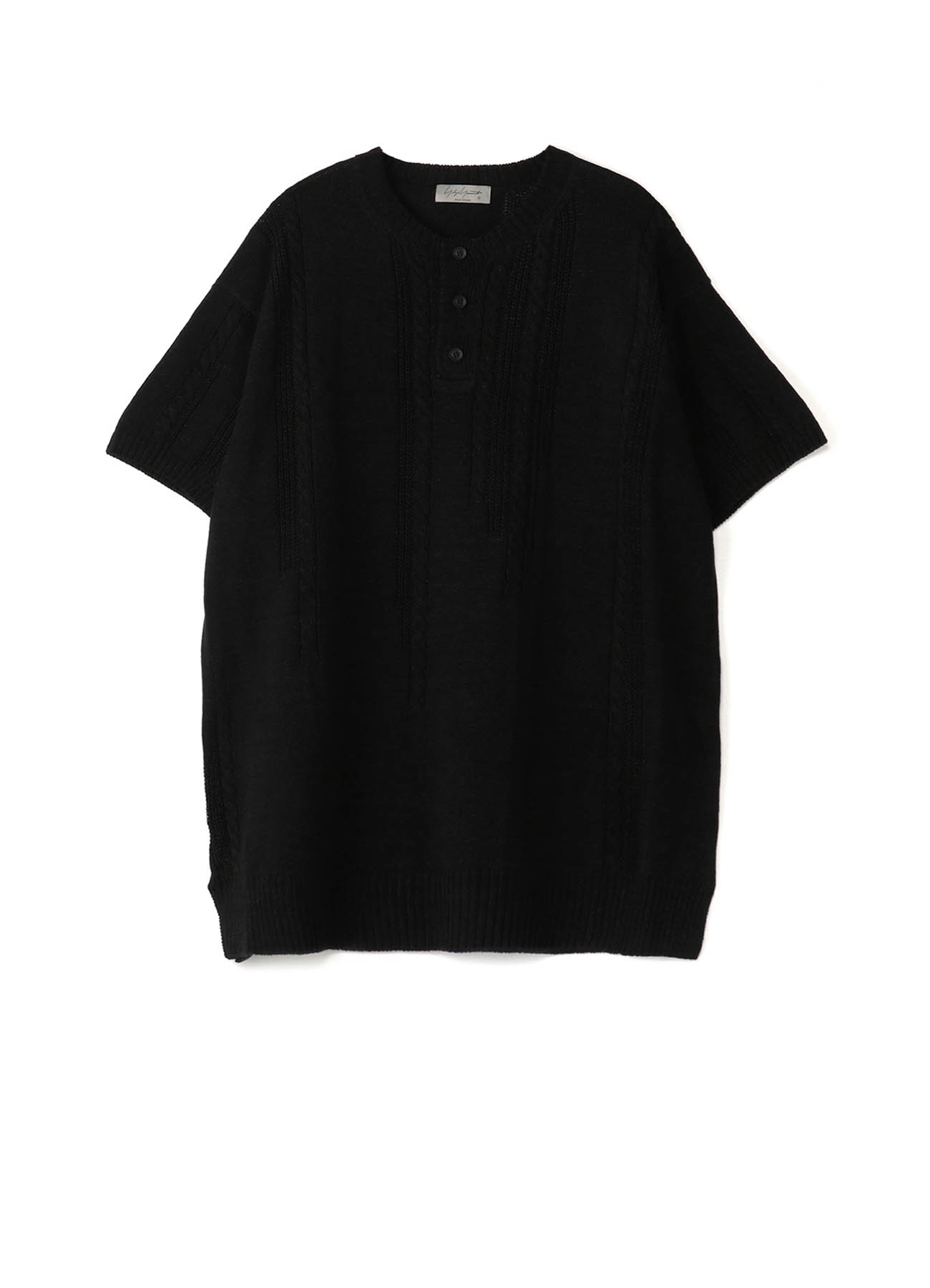 7G FISHERMAN CLOTH HENLEY SHORT SLEEVES