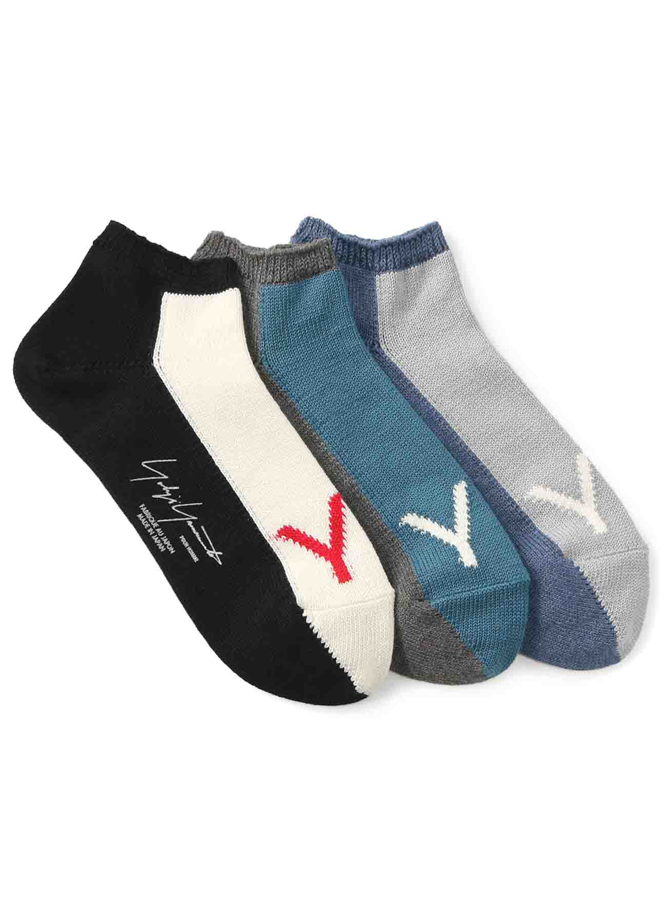 30/2 C/INTERSIA 2 TONE SHORT SOCKS