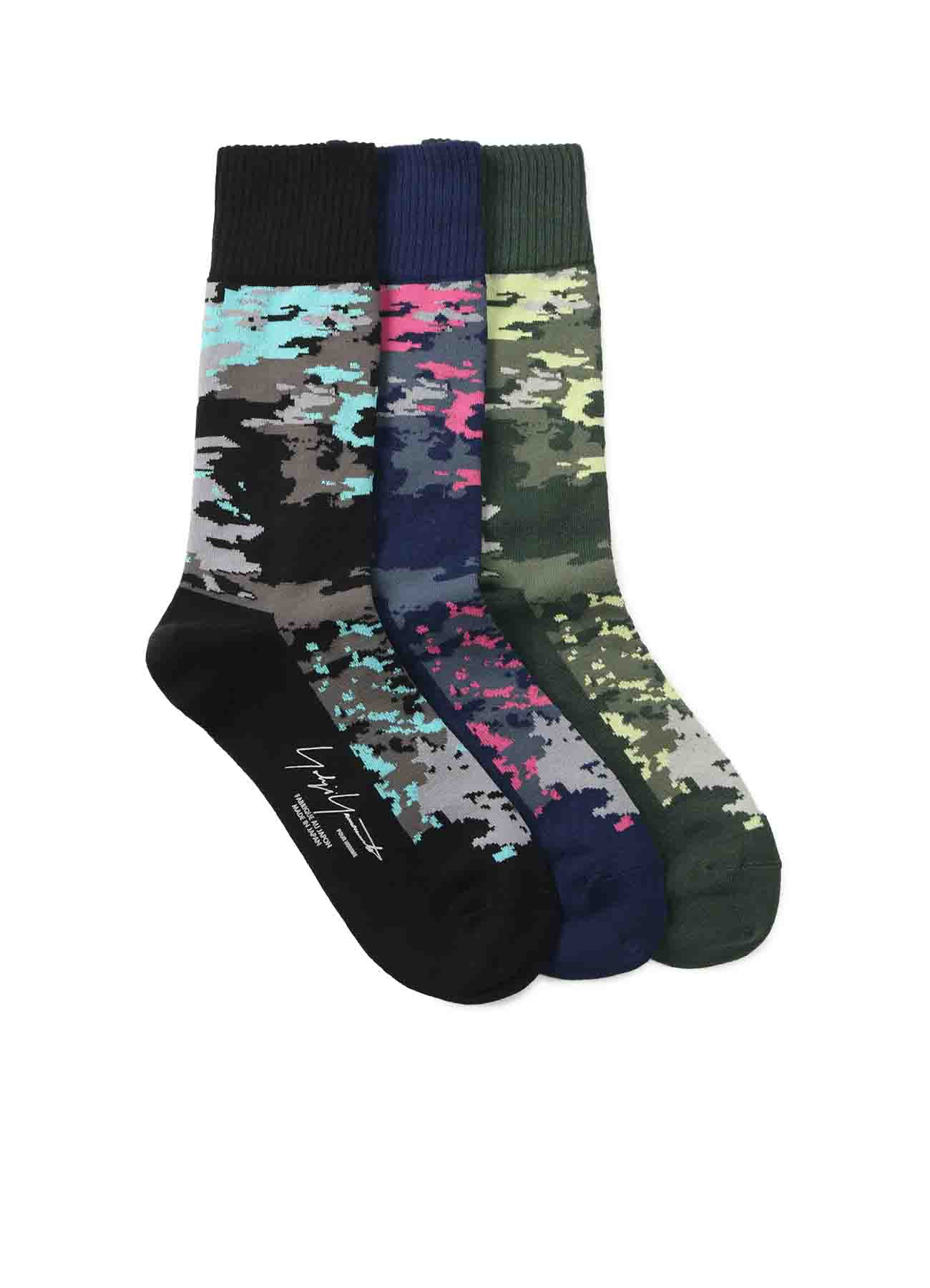32/1C Cut boss CAMOFLAGE SOCKS