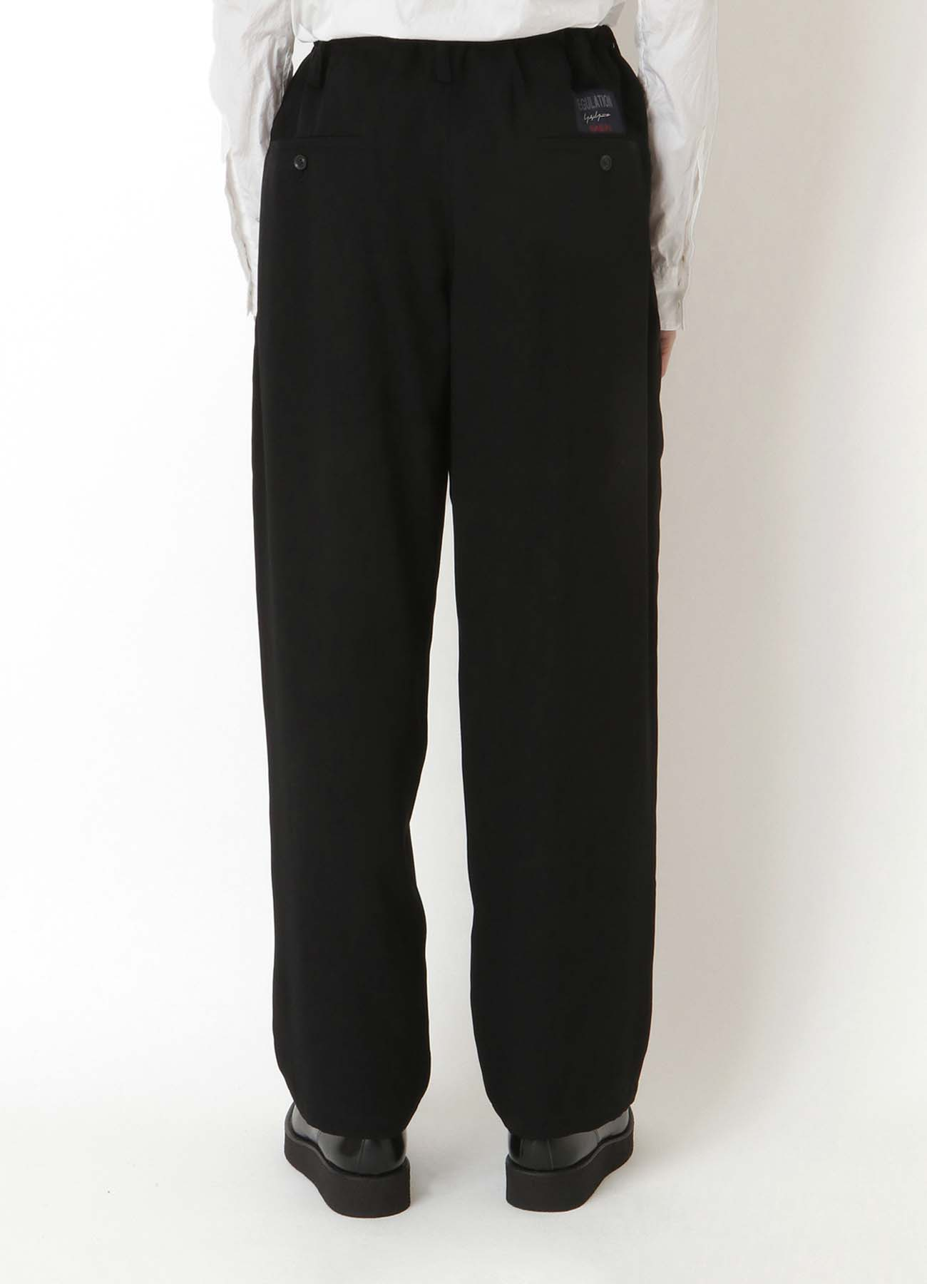REGULATION TENCEL BURBERRY STRING PANTS