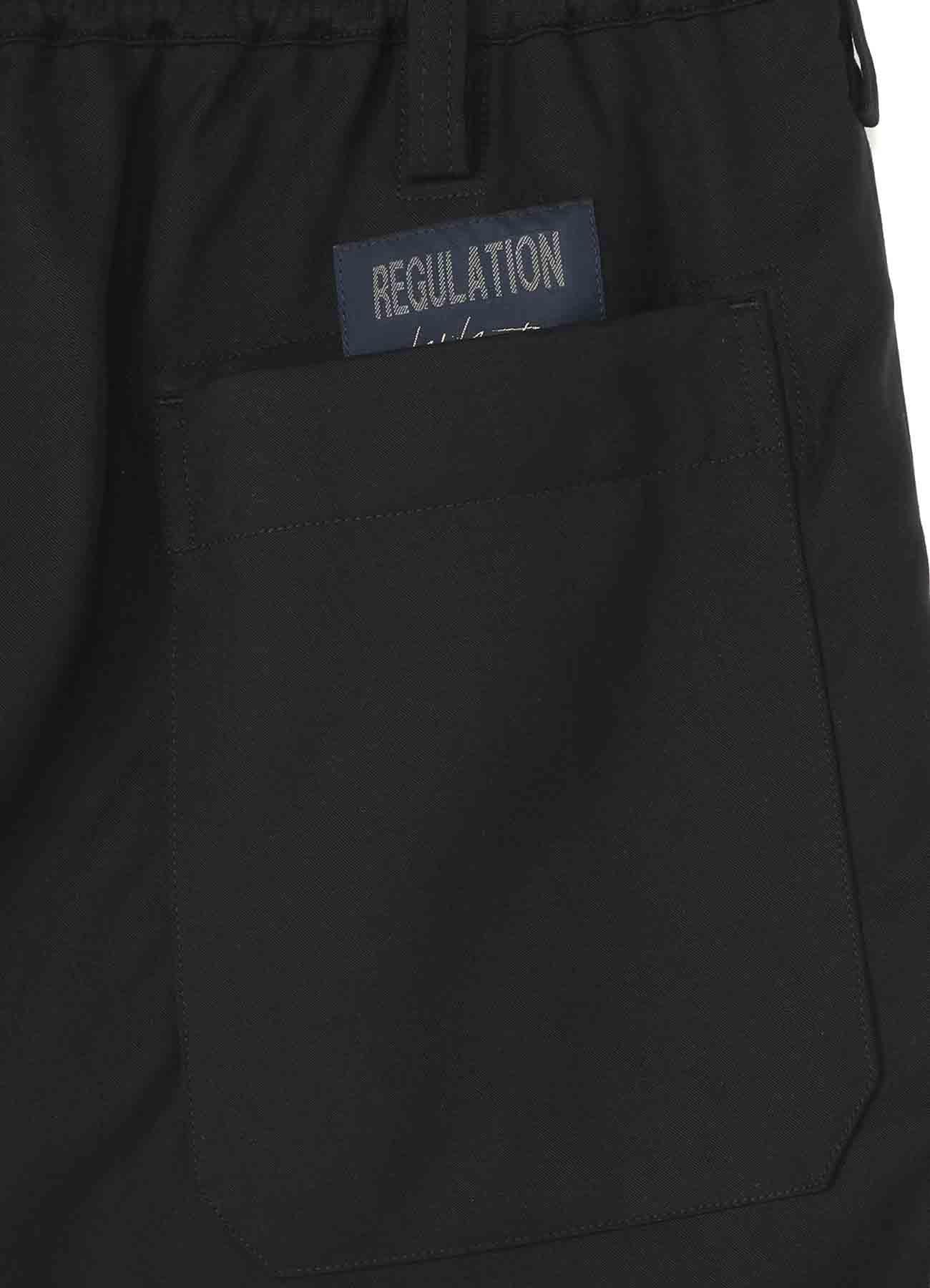 REGULATION TENCEL BURBERRY RIB FLAP POCKET PANTS
