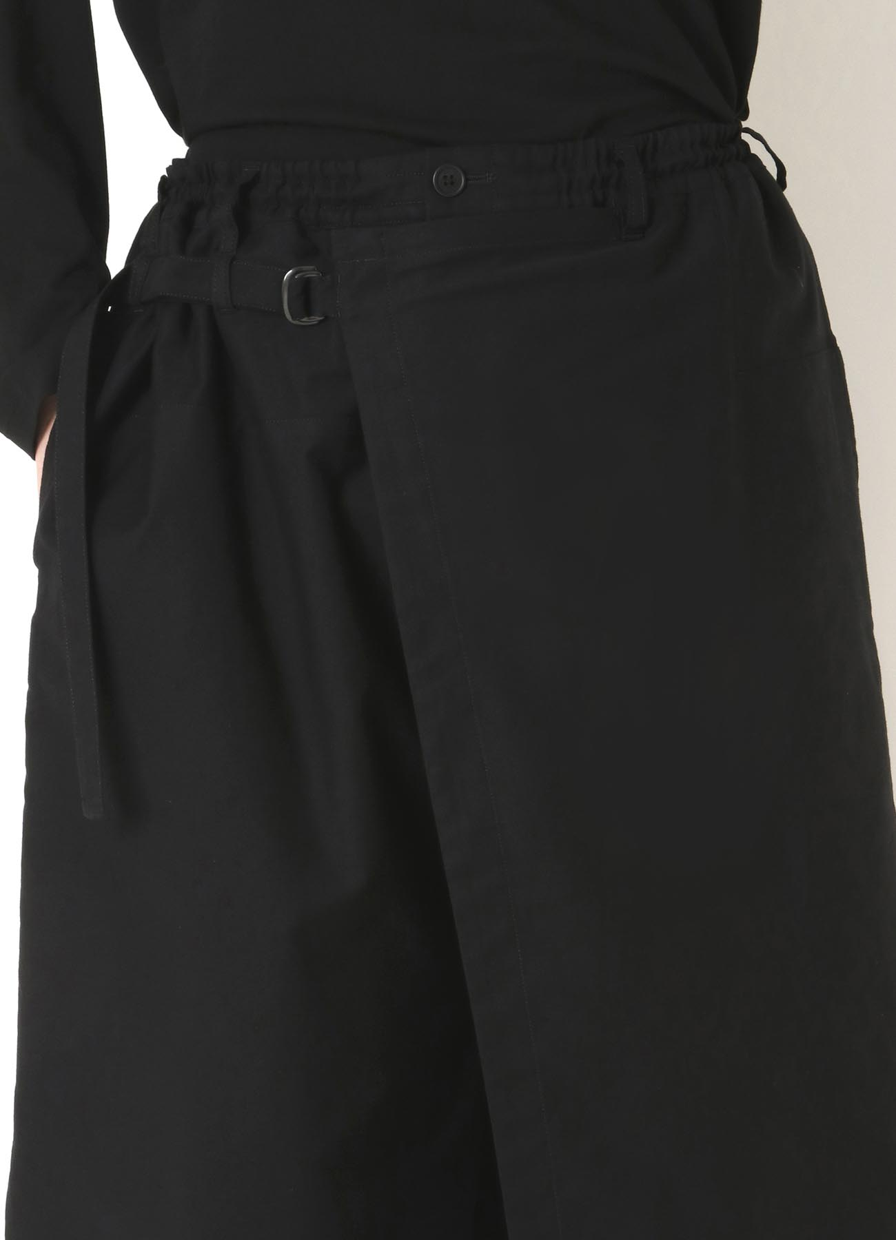 C/TWILL CLASSIC WRAP PANTS