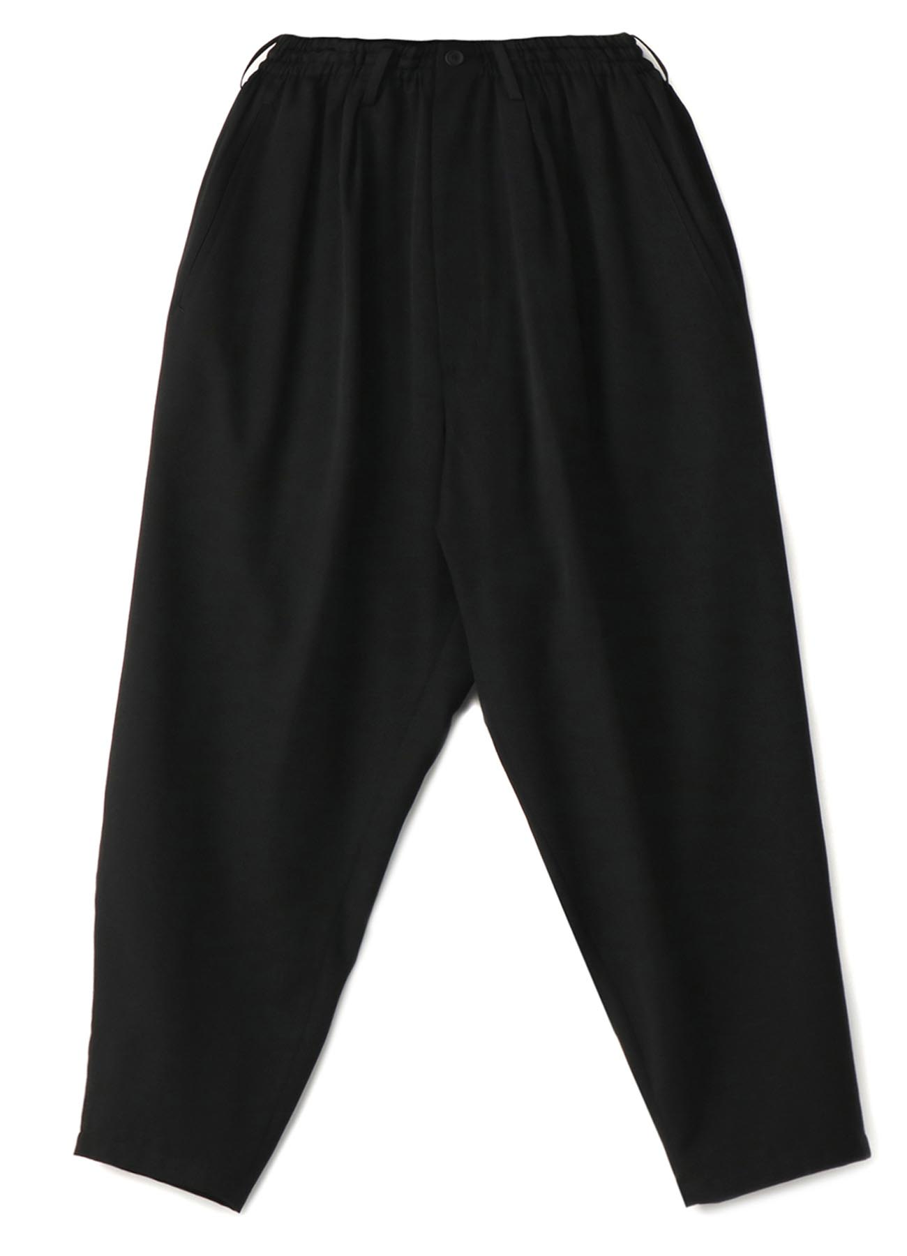 W/GABARDINE STRING PANTS