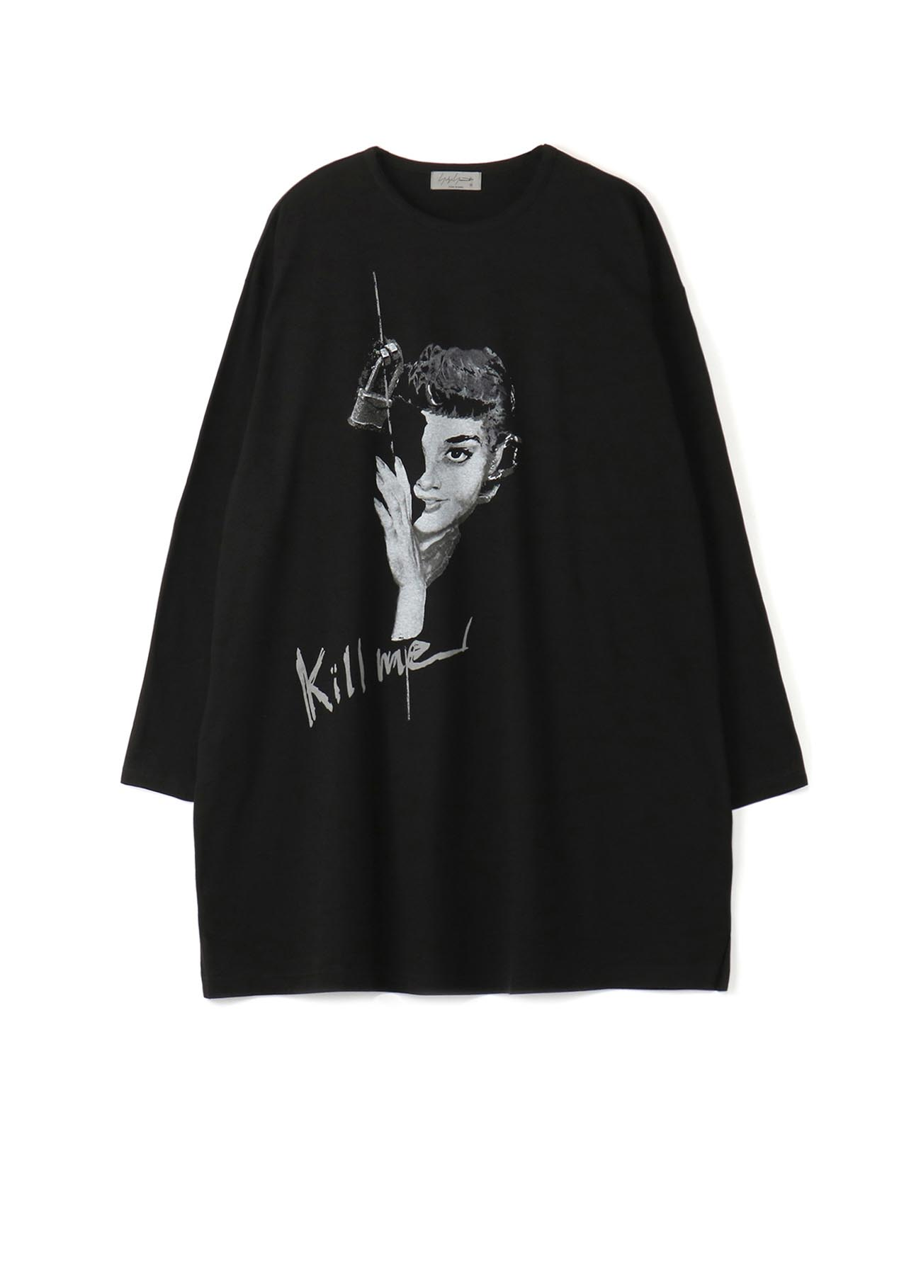 KILL ME PRINT BIG LONG SLEEVES