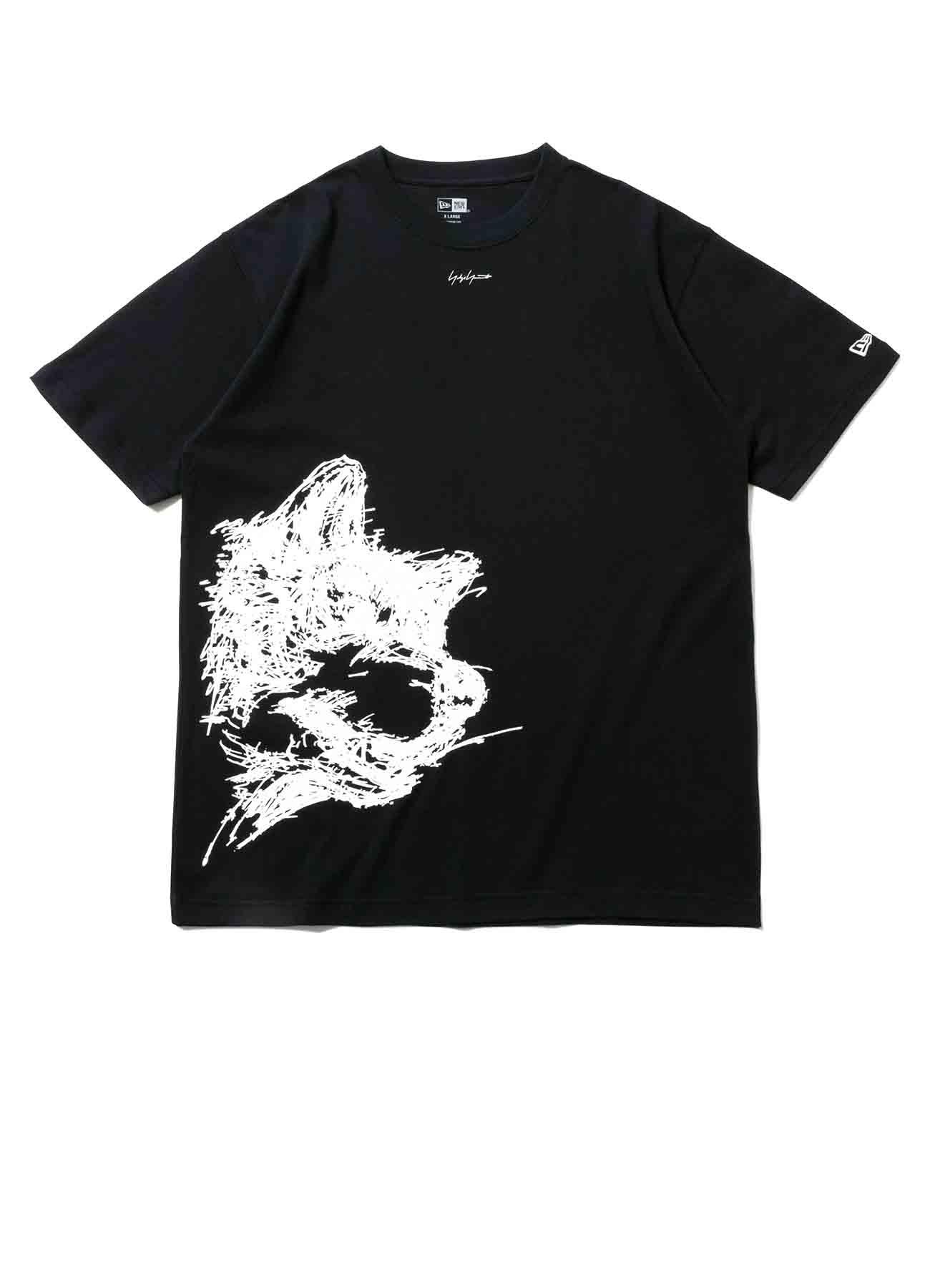 Yohji Yamamoto × New Era S/S RIN PRINT COTTON TEE