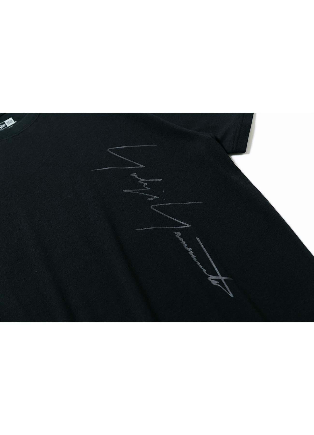 Yohji Yamamoto × New Era S/S YY PRINT COTTON TEE