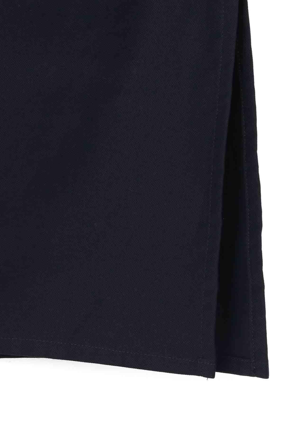 コットンツイル ビッグポケットシャツ