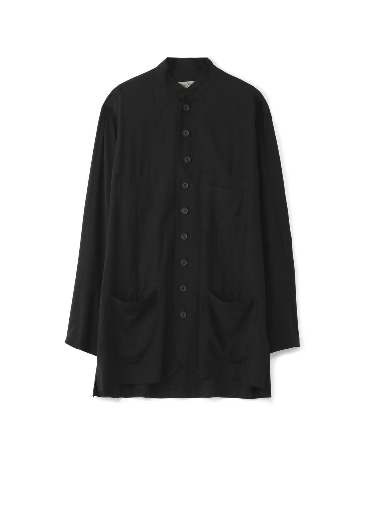 レーヨンキャンブリック シャツジャケット