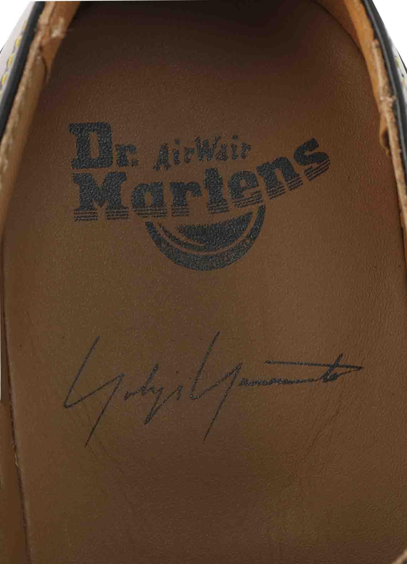 Dr. Martens ブラックスムースレザー シングルウィングプレーントゥ