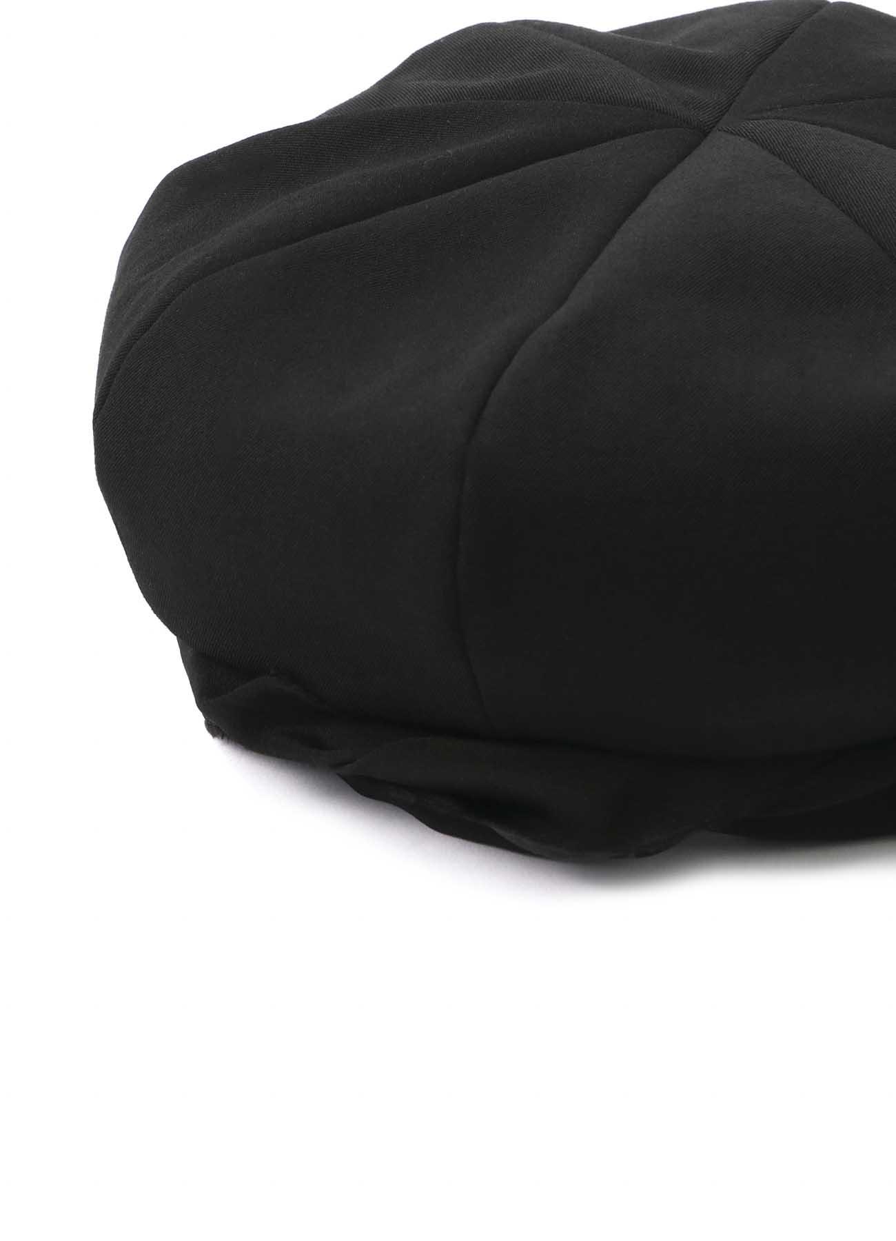 シワギャバ ベレー帽