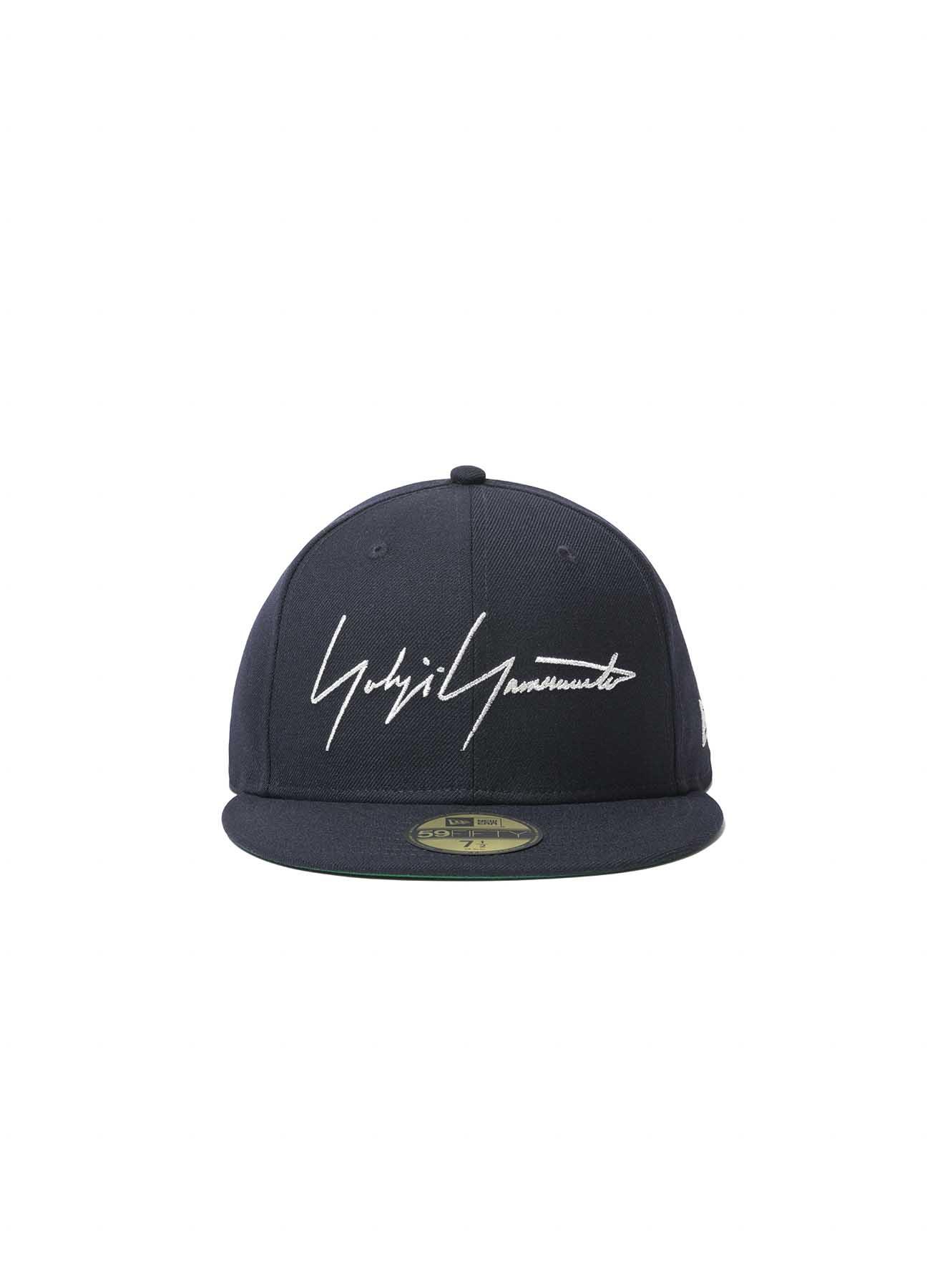 Yohji Yamamoto × New Era 59FIFTY Navy Serge Metal Logo