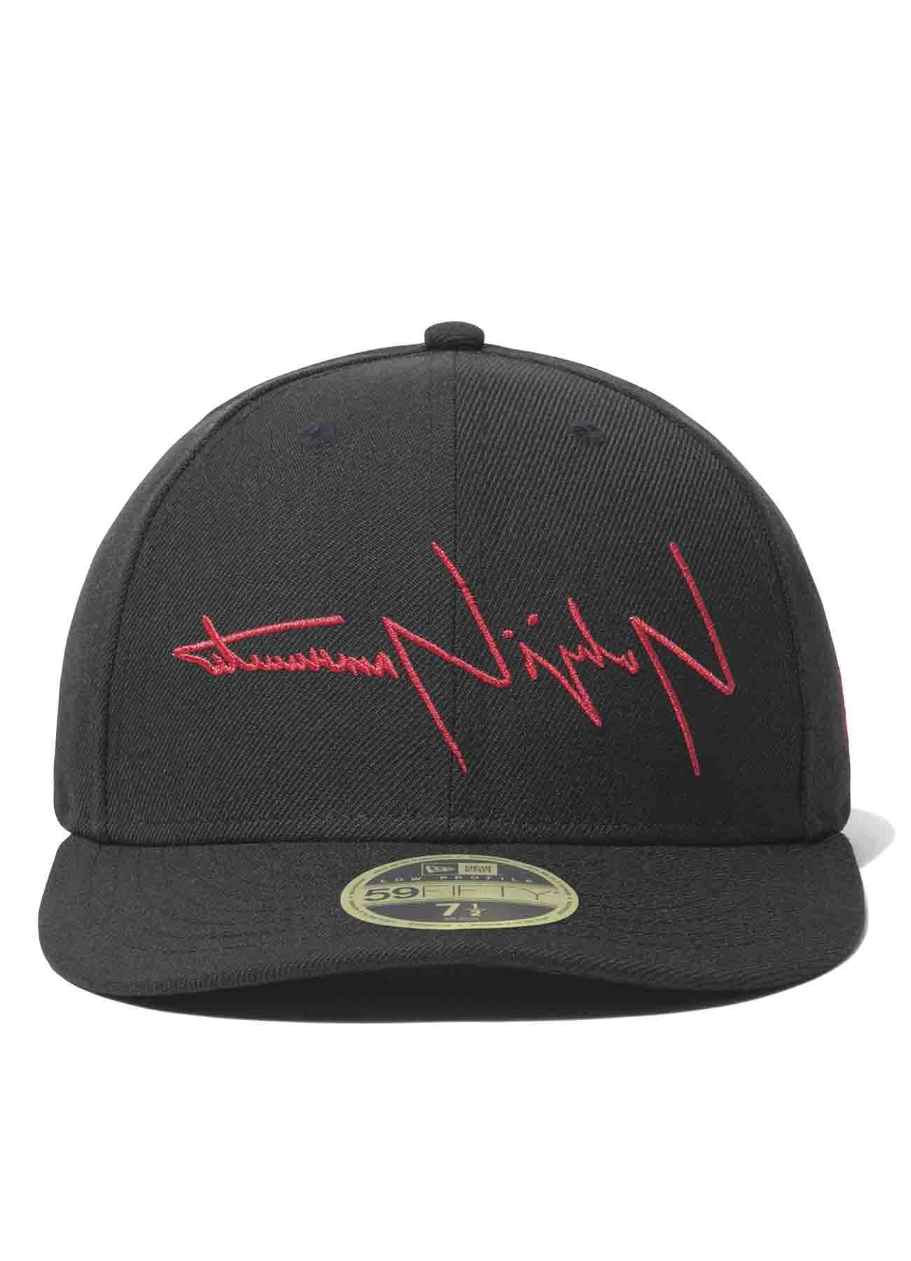 Yohji Yamamoto x New Era LP59FIFTY Black Serge Reverse Logo