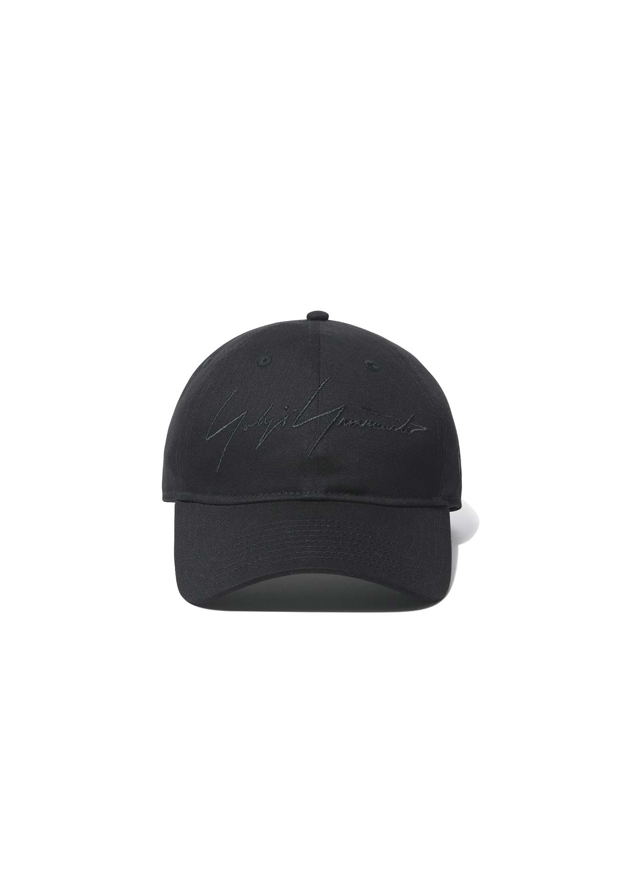 Yohji Yamamoto × New Era 9THIRTY Black Cotton Black Logo
