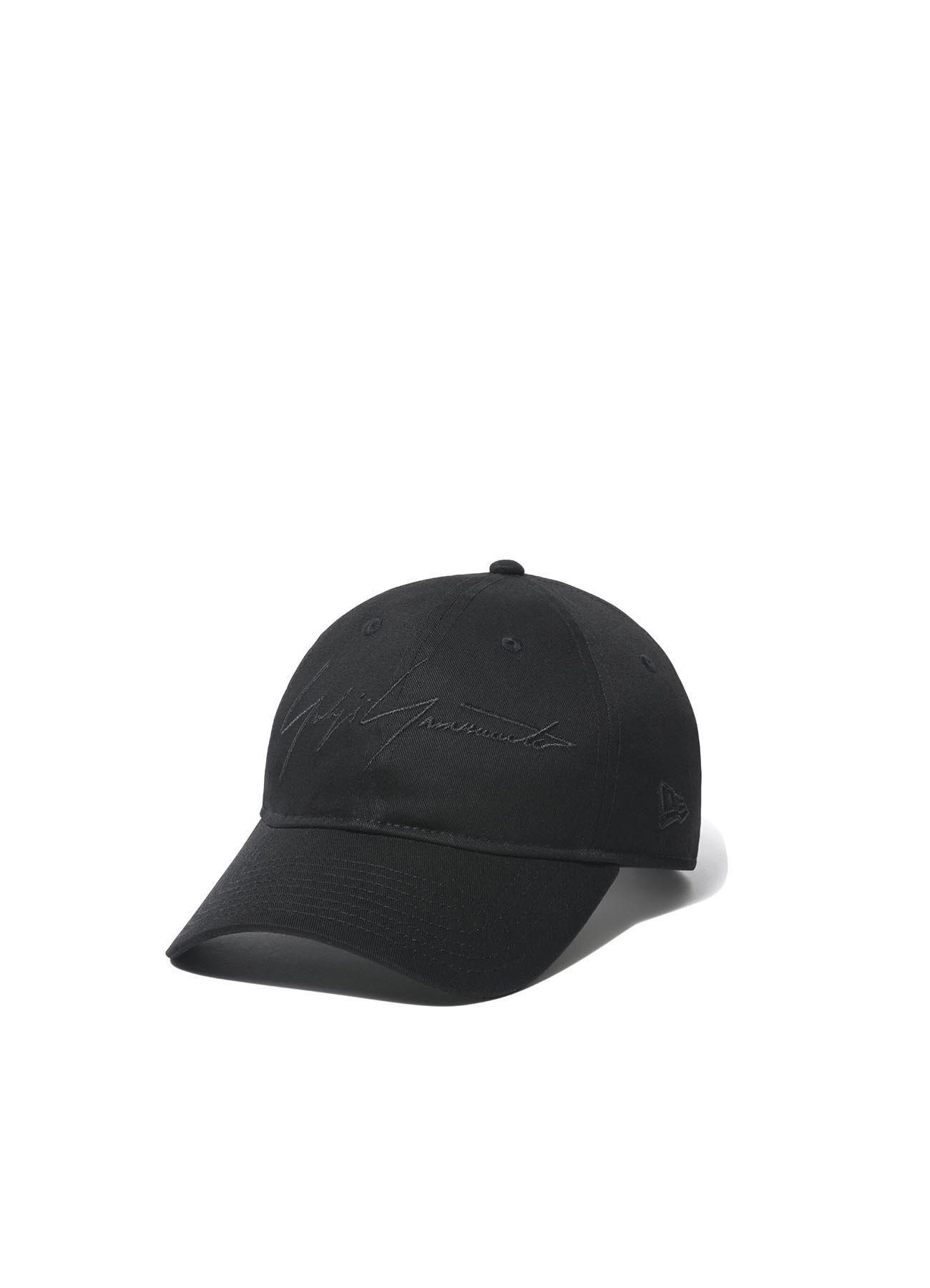Yohji Yamamoto × New Era 9THIRTY Black Cotton Black Logo