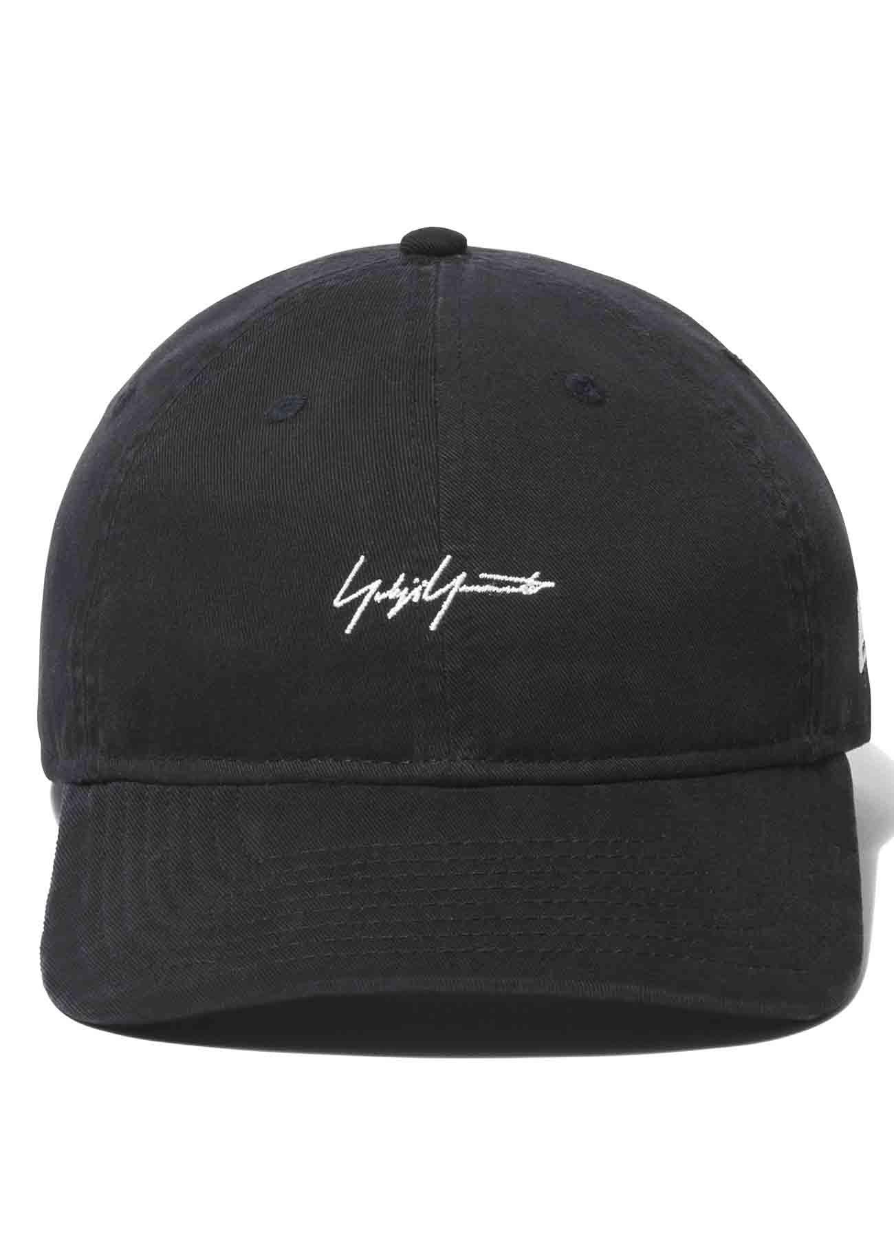 Yohji Yamamoto × New Era 9THIRTY Cotton Packable Logo Black