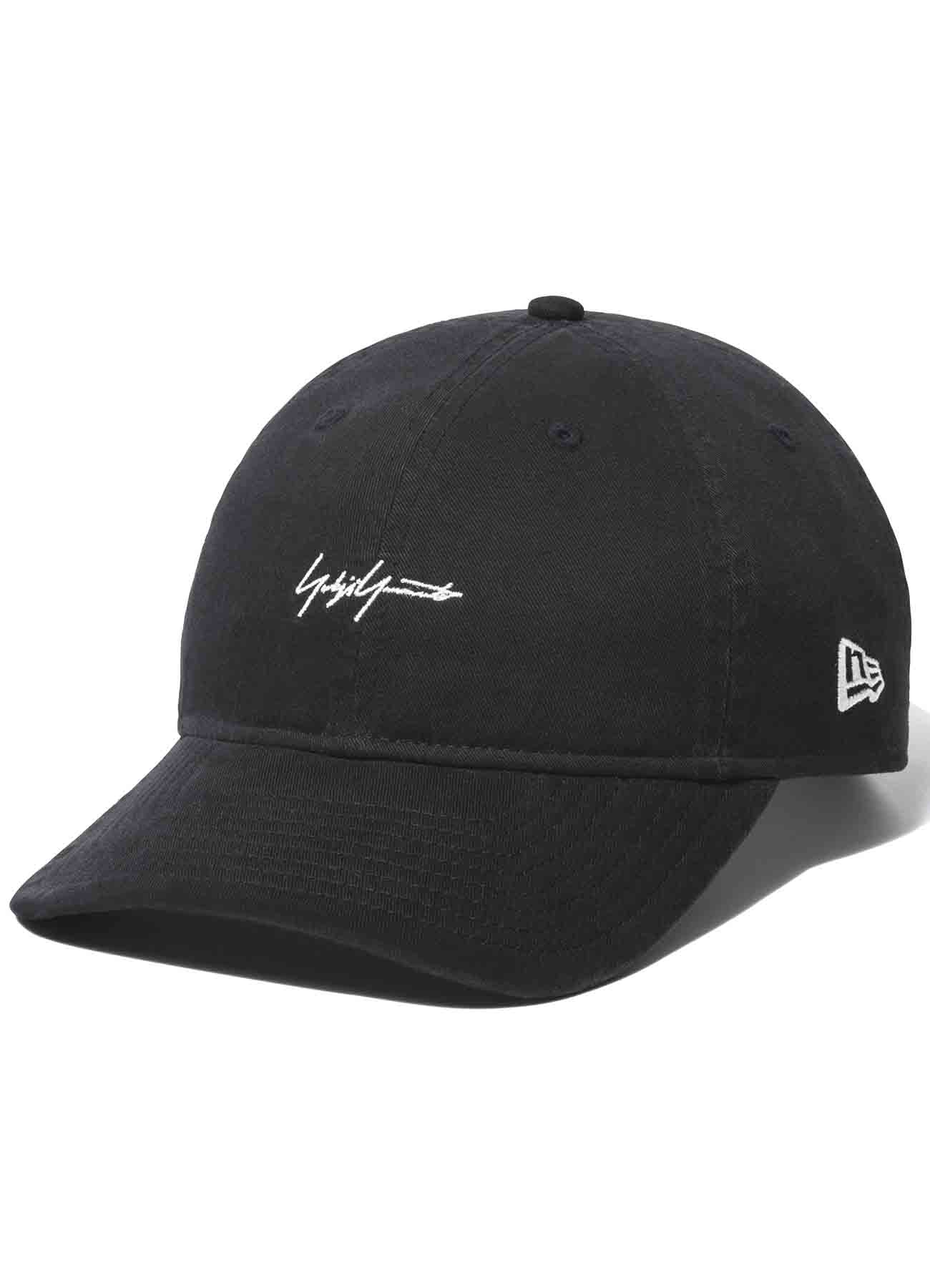 Yohji Yamamoto × New Era 9THIRTY Cotton Packable Logo Black
