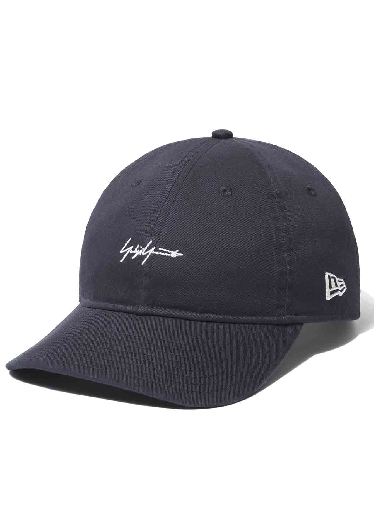 Yohji Yamamoto × New Era 9THIRTY Cotton Packable Logo Navy