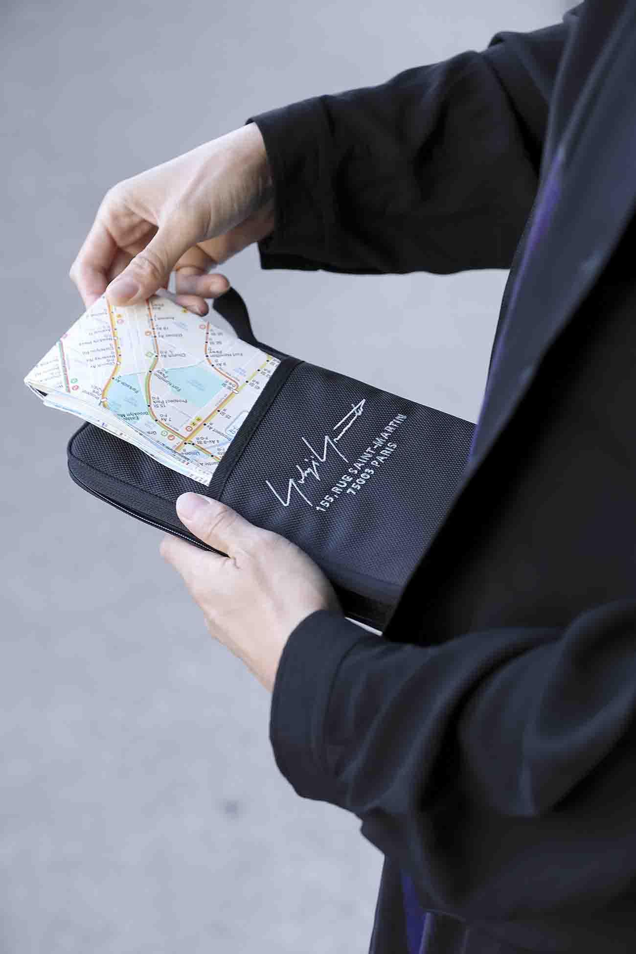 Yohji Yamamoto x New Era Passport Case