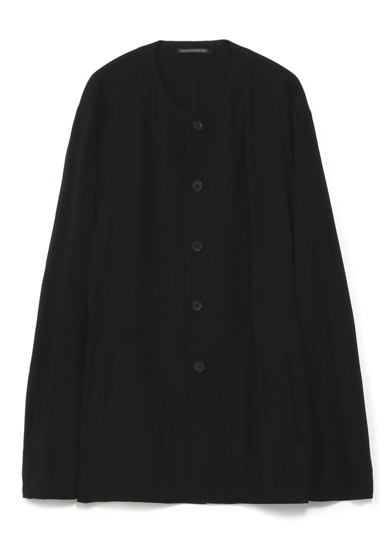 レーヨンキャンブリック 一重シャツ仕立てジャケット