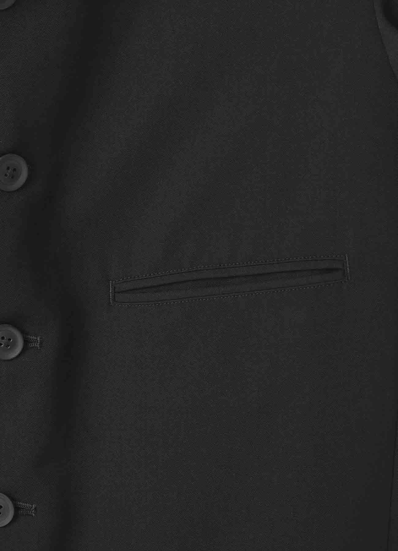 シワギャバ 6釦インナージャケット