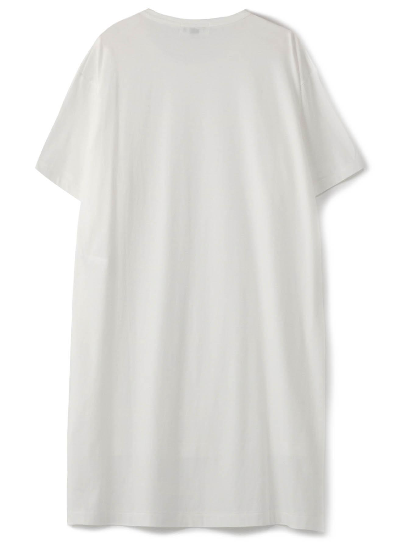 カルティマ天竺 半袖裾前後丈違い半袖TEE