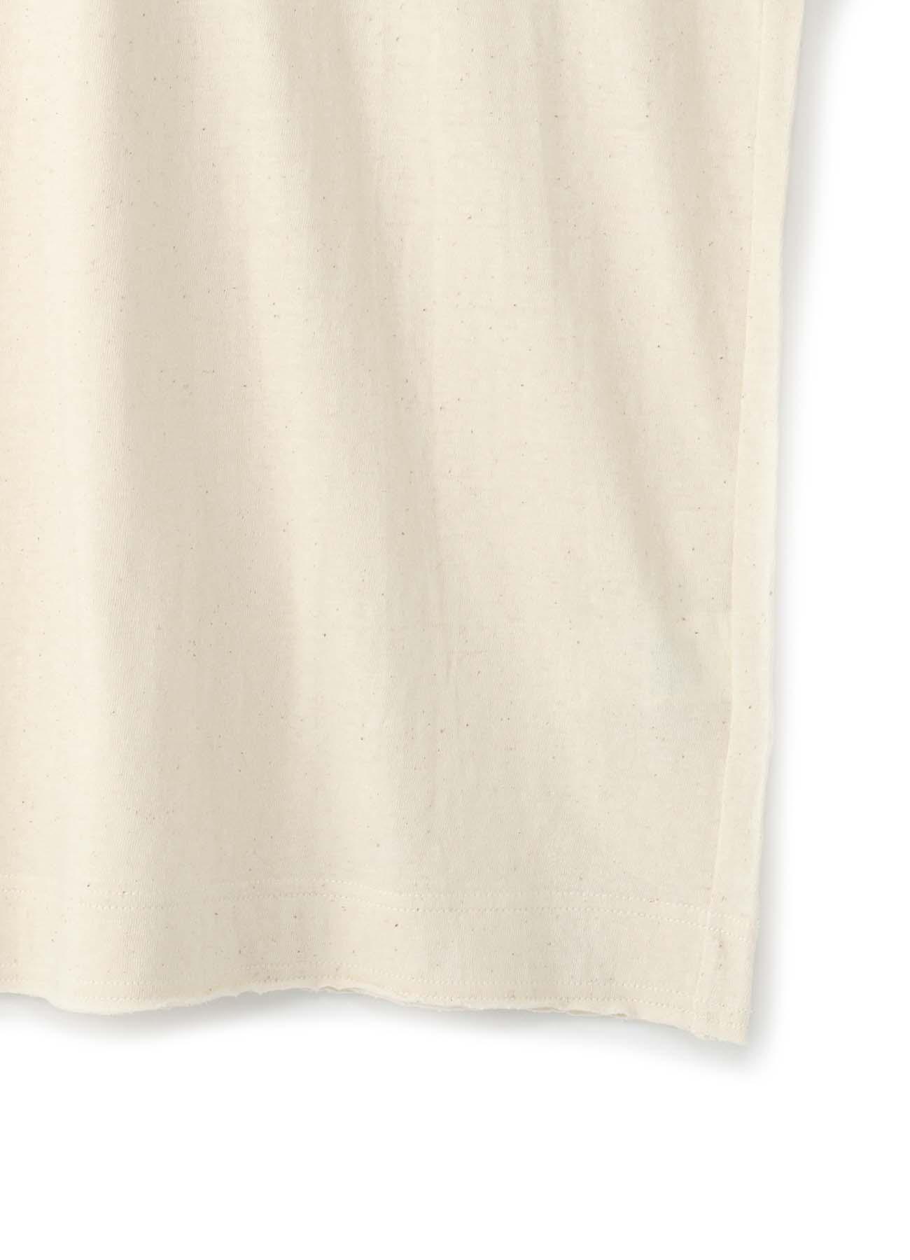 オールドコットン天竺縫代見せ タチキリVベスト