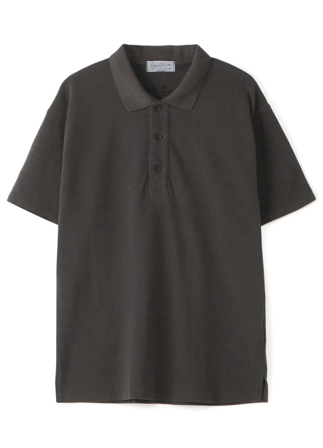 製品染刺繍 カノコポロシャツ