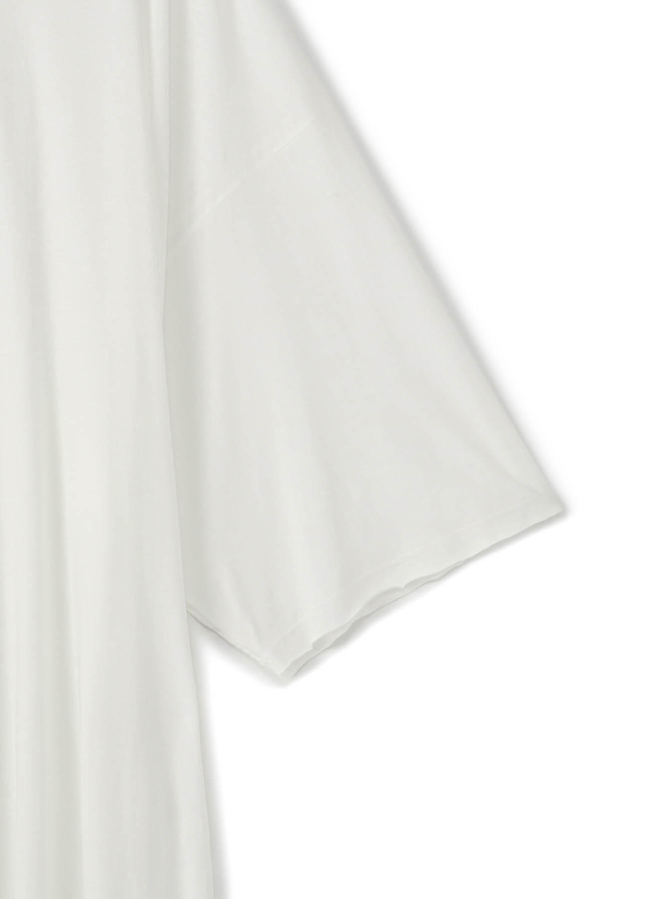 80/-綿天竺 前後丈違い半袖Tee