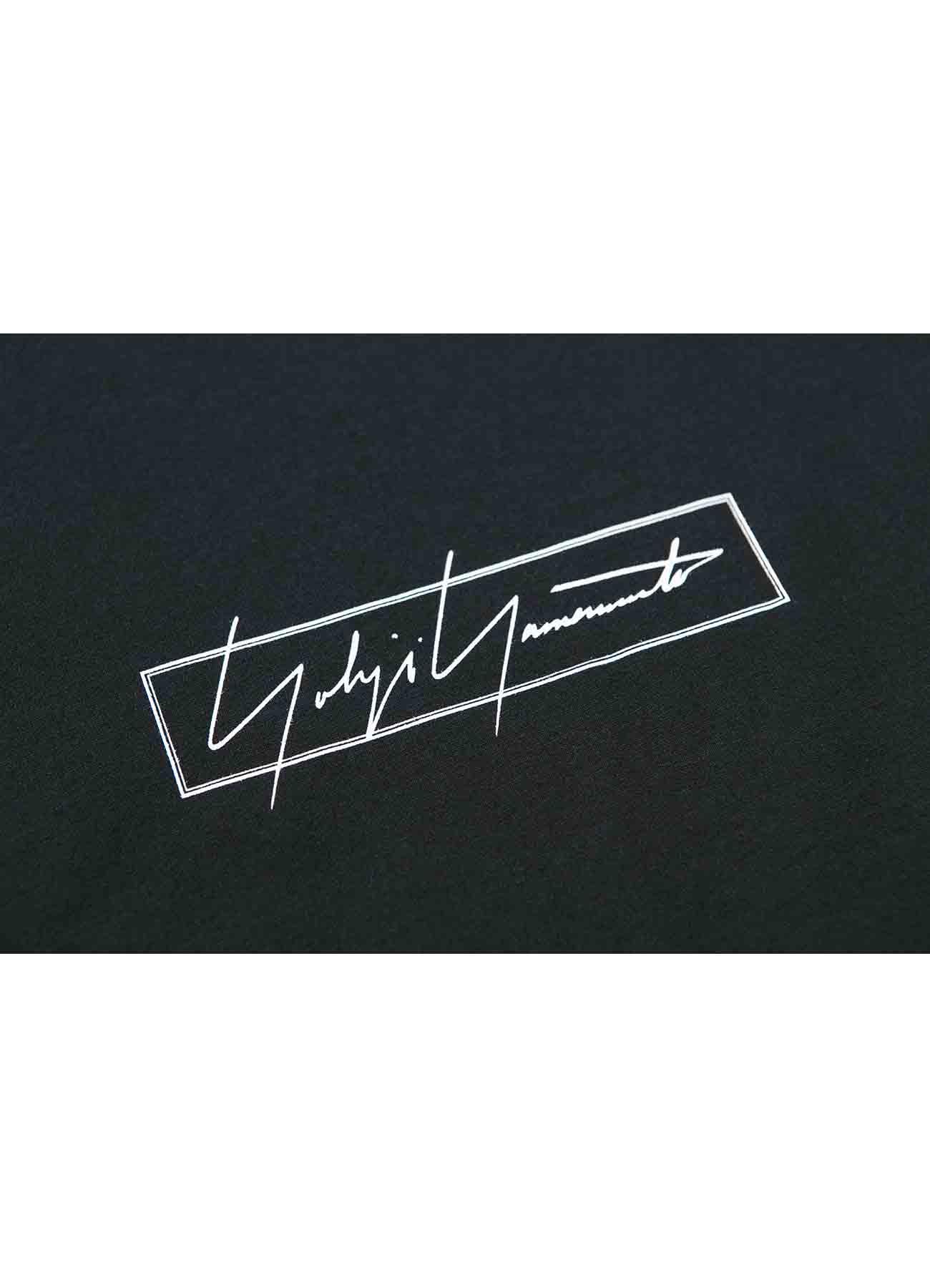 Yohji Yamamoto × New Era ボックスロゴ半袖TEE