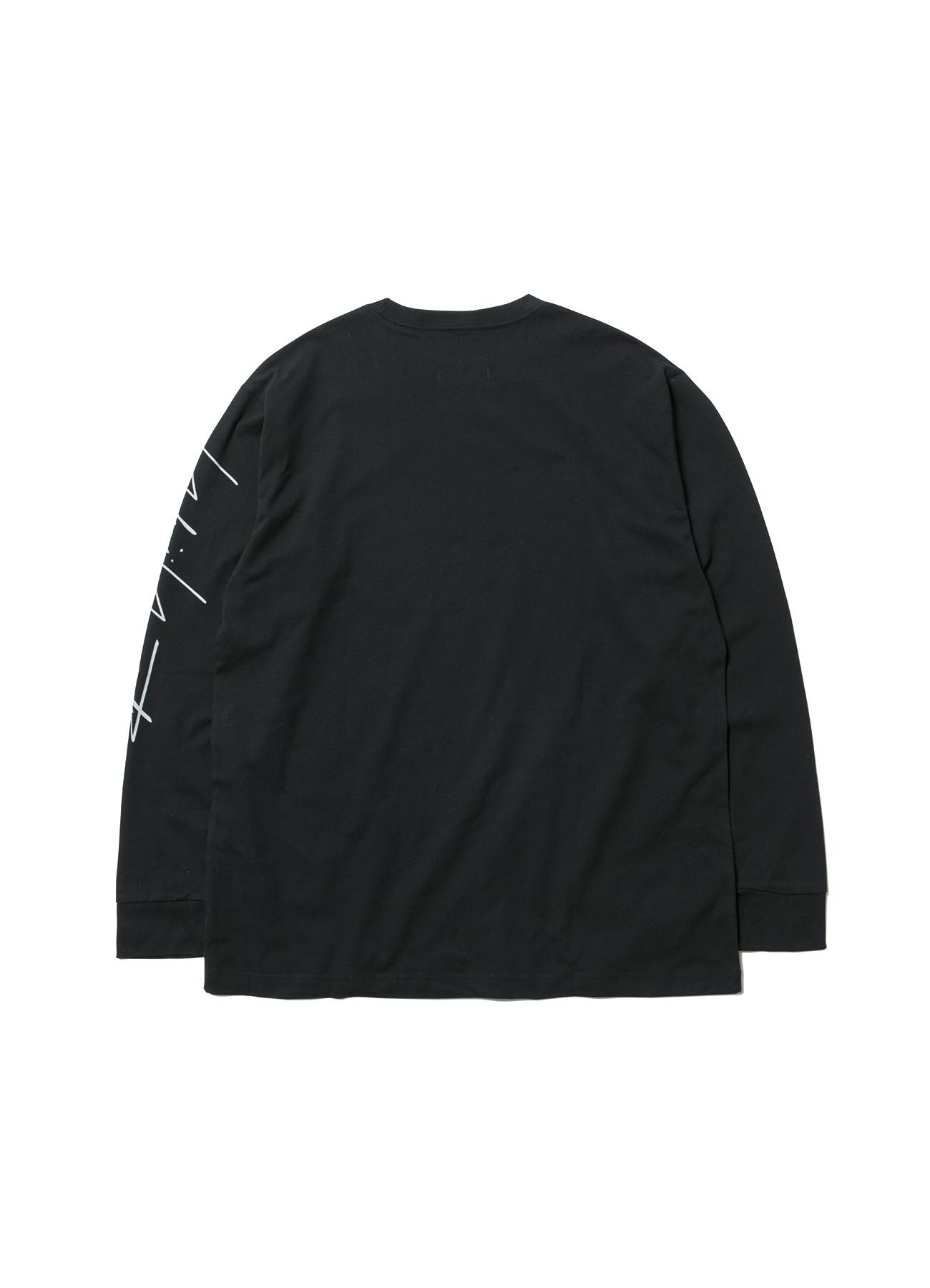 Yohji Yamamoto × New Era 左袖 シグネチャープリント 長袖TEE