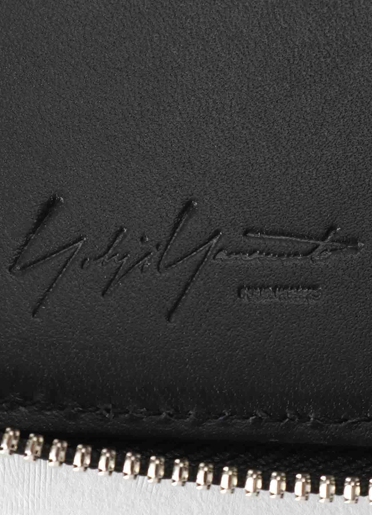 THICK UNFINISHED LEATHER FASTENER WALLET