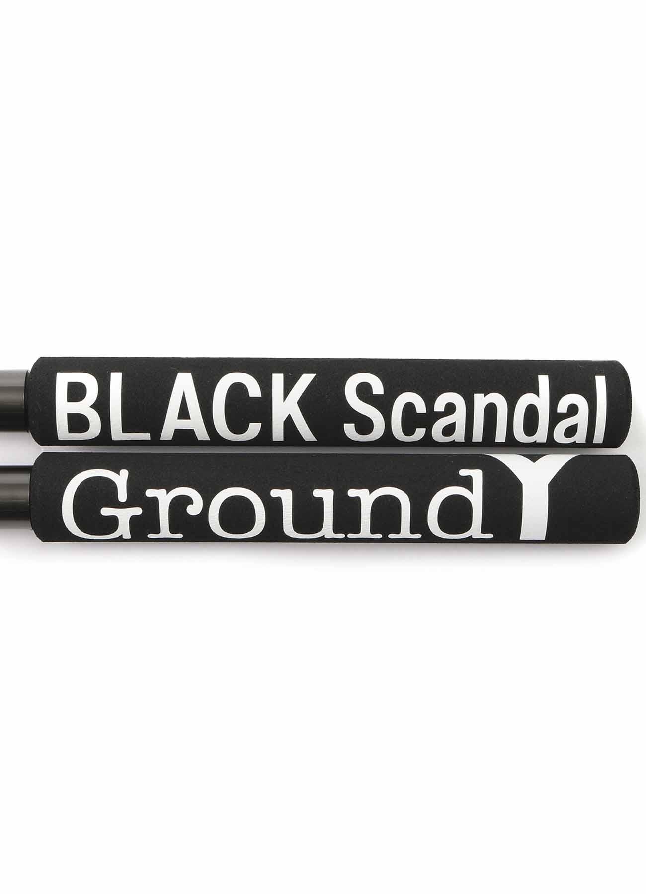 BLACK Scandal x Ground Y ラバー ヌンチャク