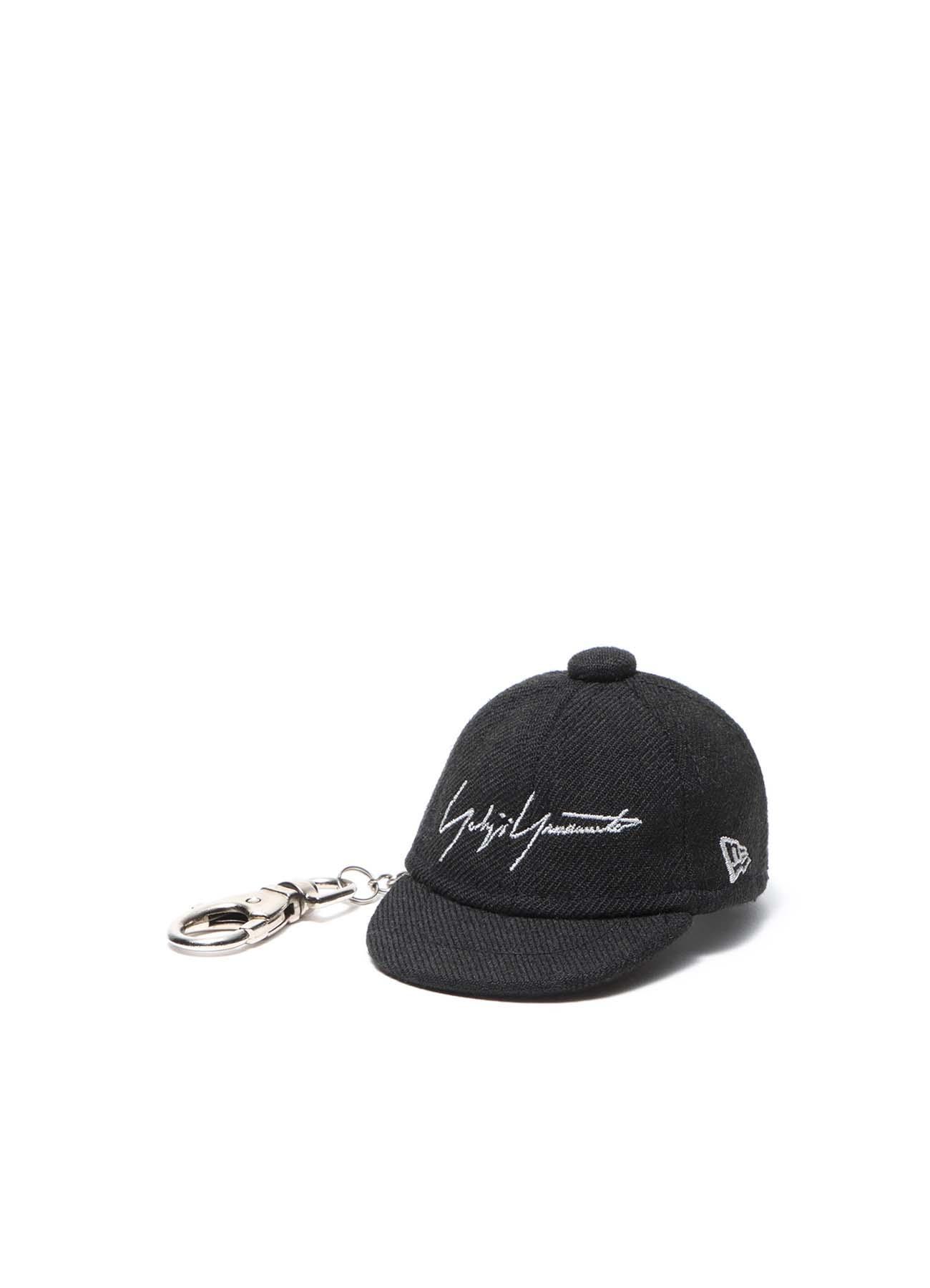 Yohji Yamamoto × New Era BLACK SERGE CAP KEYHOLDER BLACK/GRAY