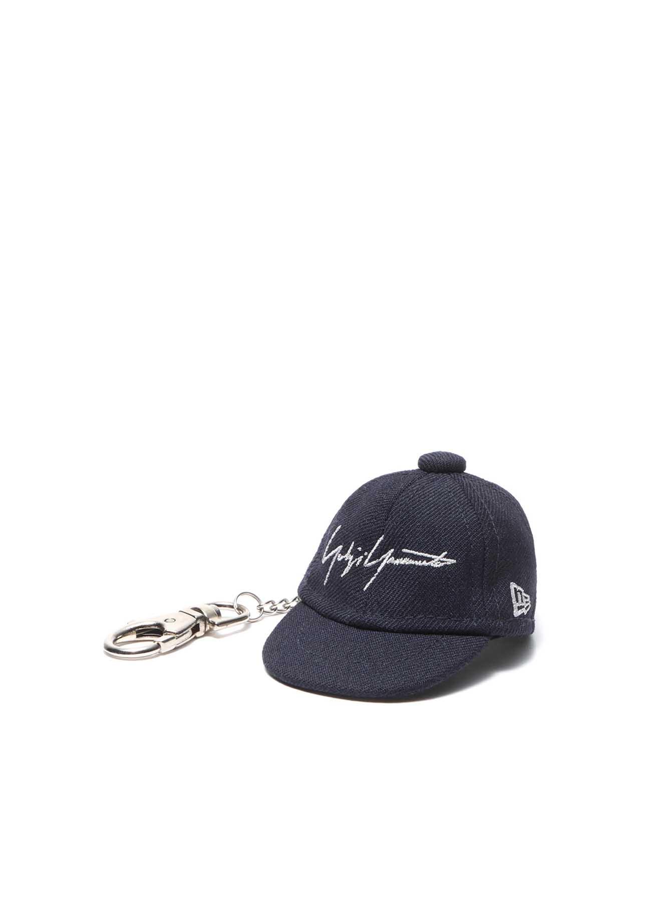 Yohji Yamamoto × New Era BLACK SERGE CAP KEYHOLDER NAVY/GRAY