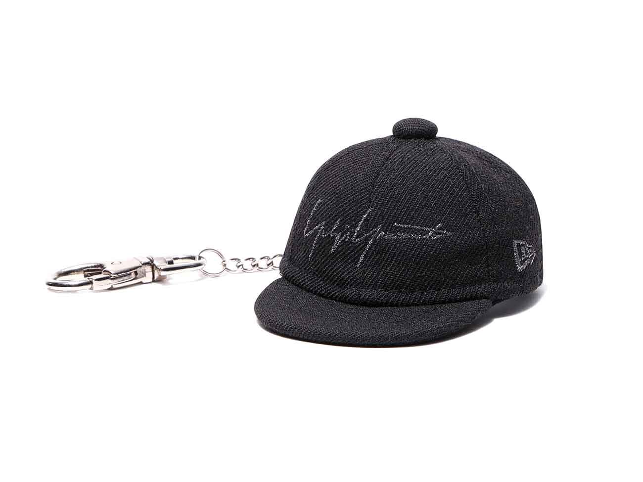 Yohji Yamamoto × New Era BLACK SERGE CAP KEYHOLDER BLACK/BLACK