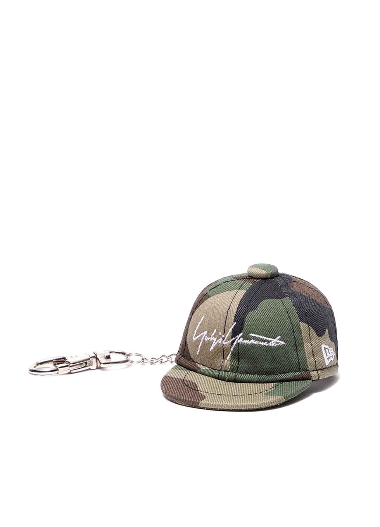 Yohji Yamamoto × New Era BLACK SERGE CAP KEYHOLDER CAMOUFLAGE
