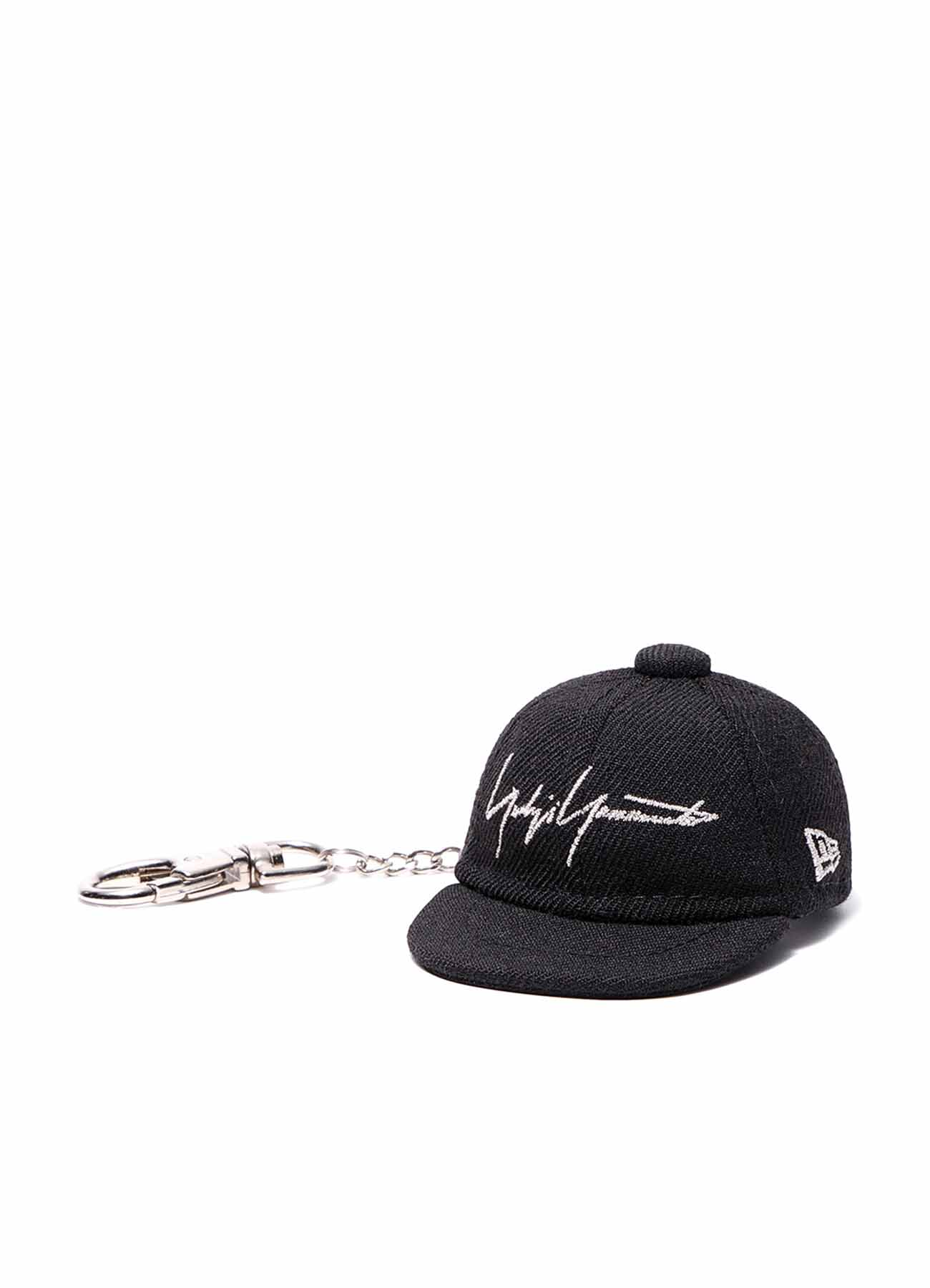 Yohji Yamamoto × New Era BLACK SERGE CAP KEYHOLDER BLACK/SILVER