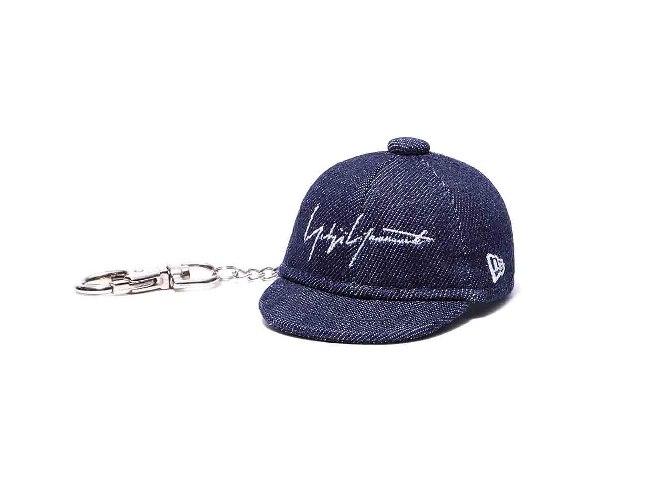 Yohji Yamamoto × New Era BLACK SERGE CAP KEYHOLDER DENIM