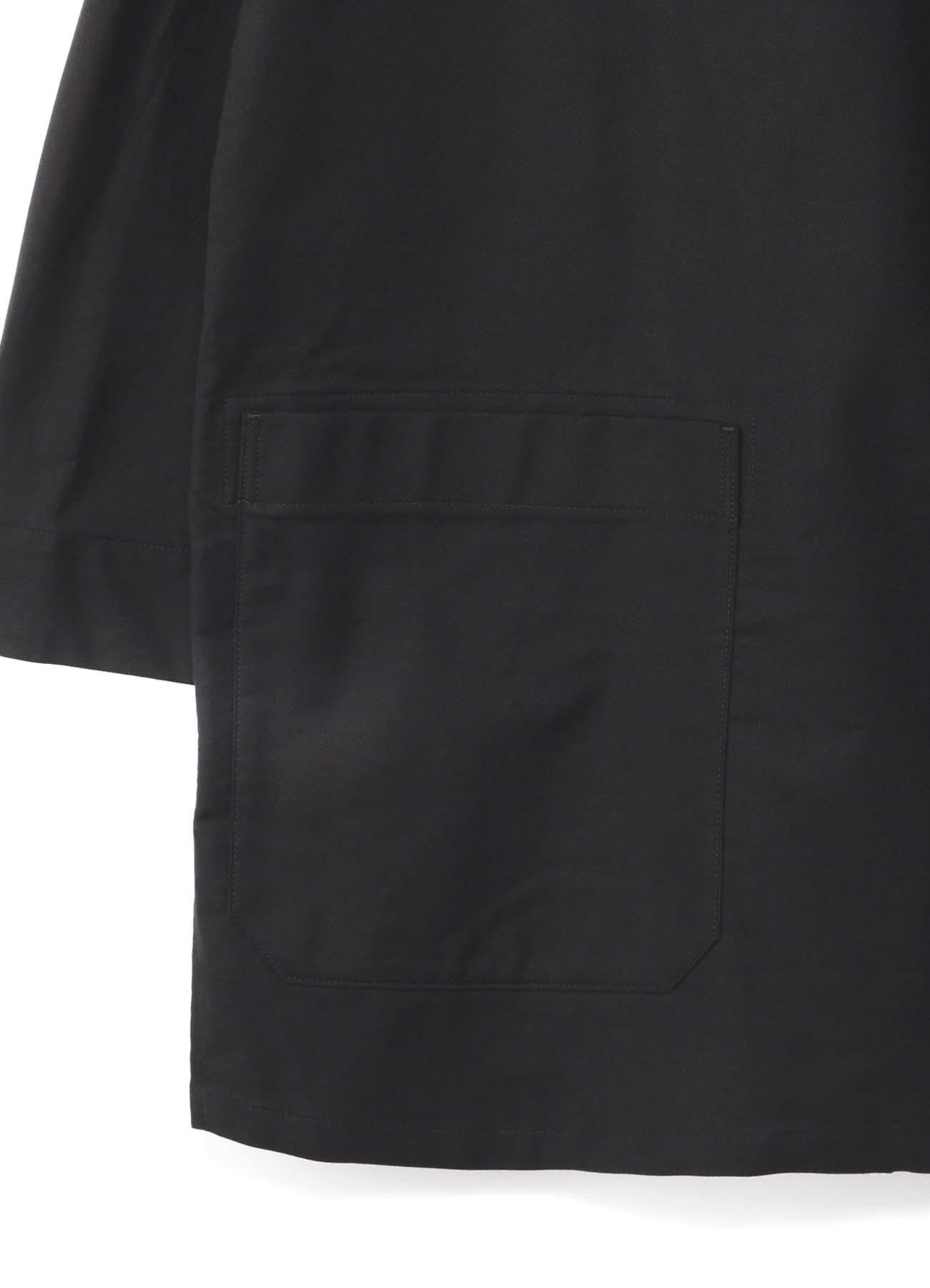 BLACK Scandal刺繍ツイル 右胸内ポケットブラウス