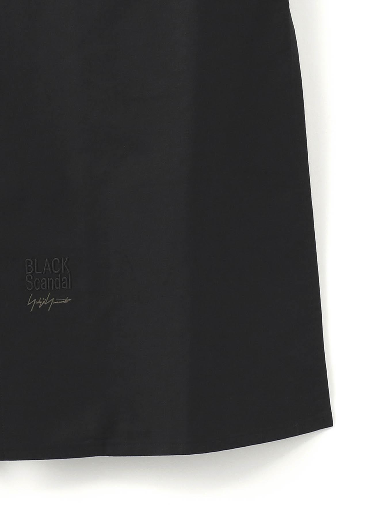 BLACK Scandal刺繍ツイル ファスナー付きブラウス