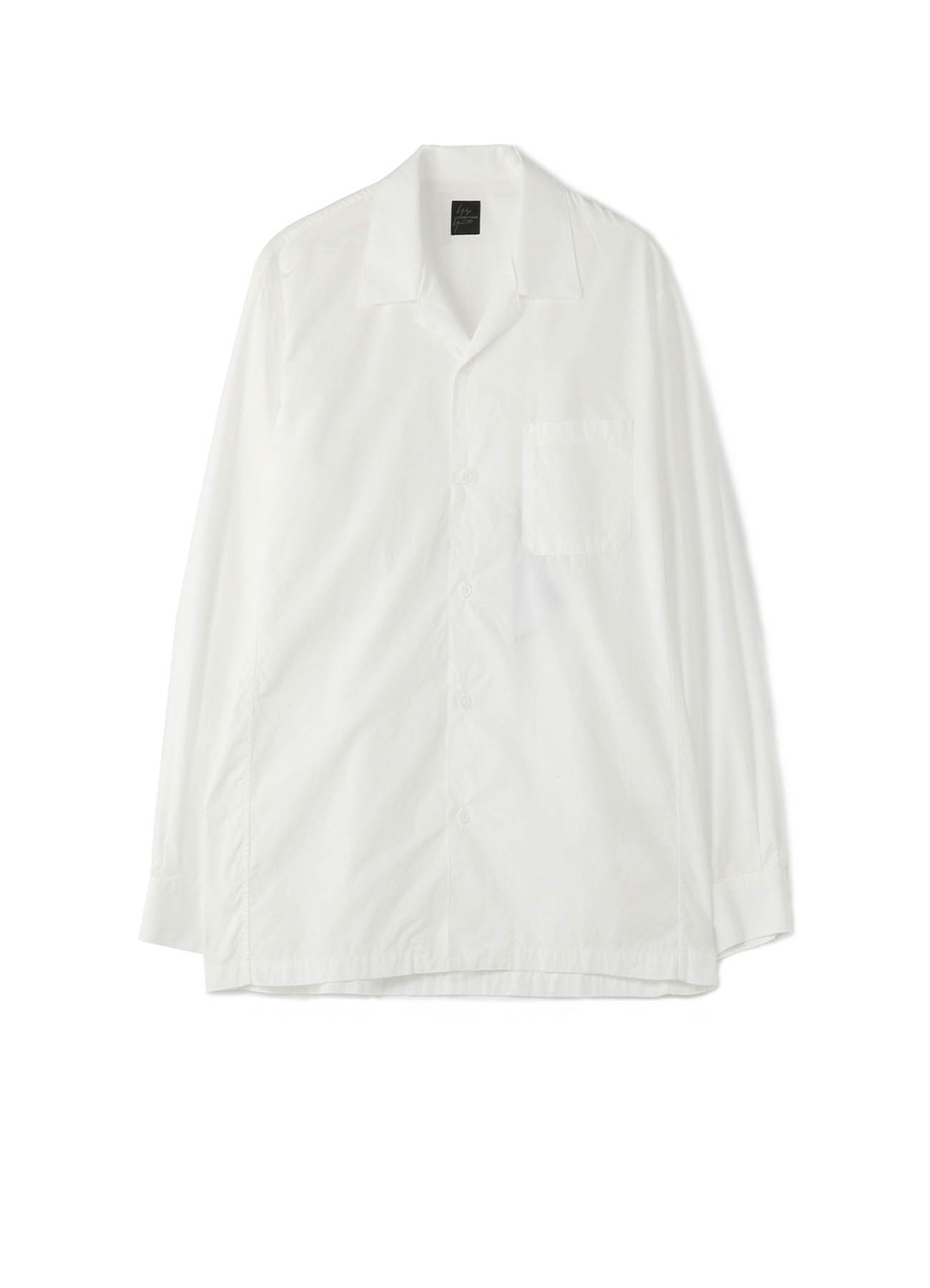 COSTUME D'HOMME 4 DIMENSION MOTION CUTTING OPEN COLLAR SHIRT