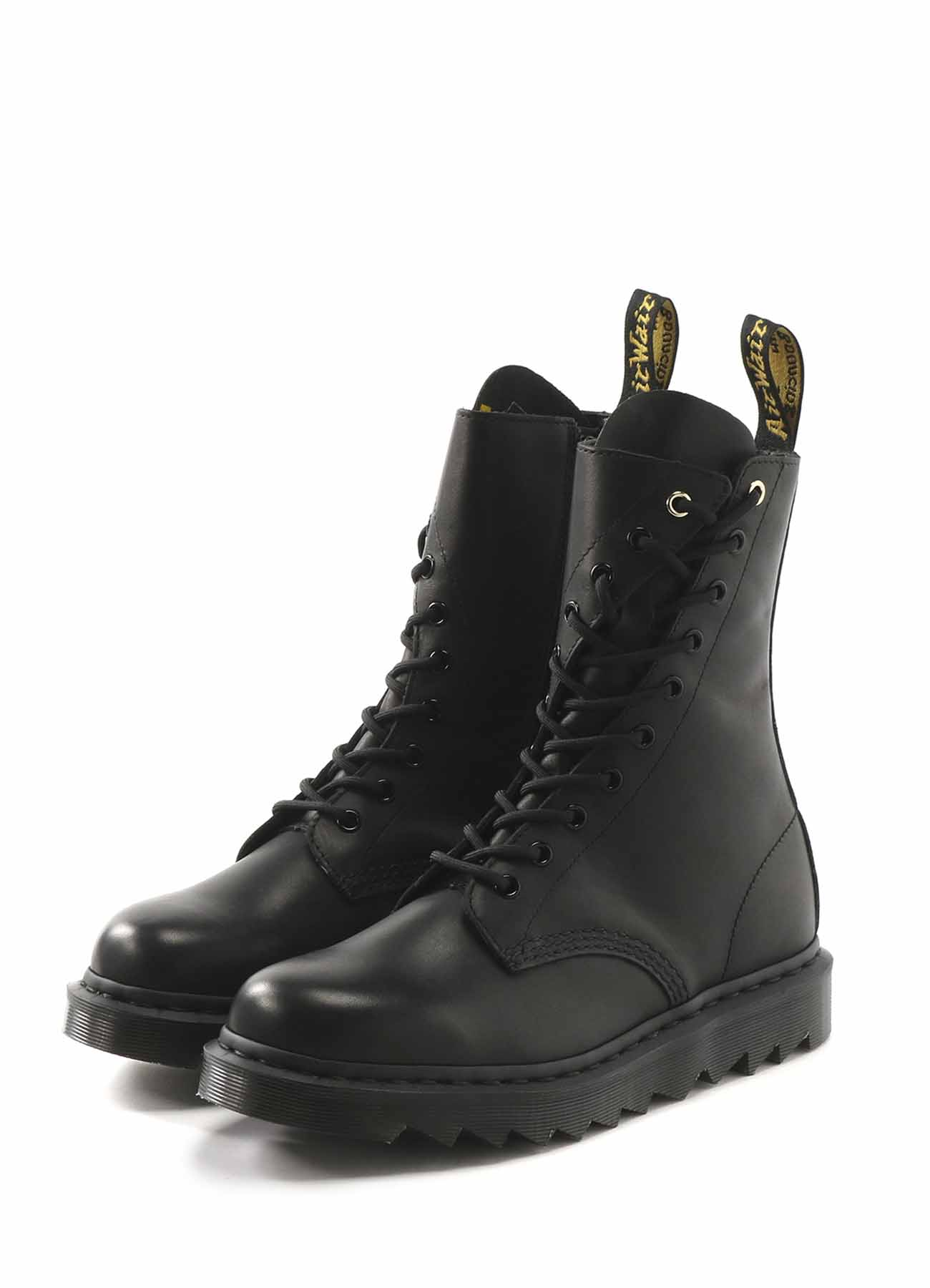 Dr.Martens BLACK TEMPERLEY TWISTED BOOTS
