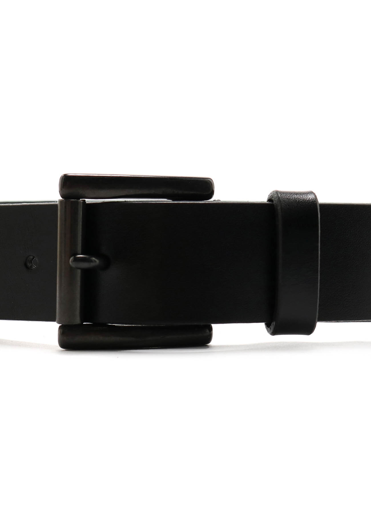 ITALIAN LEATHER 35MM PLAIN BELT