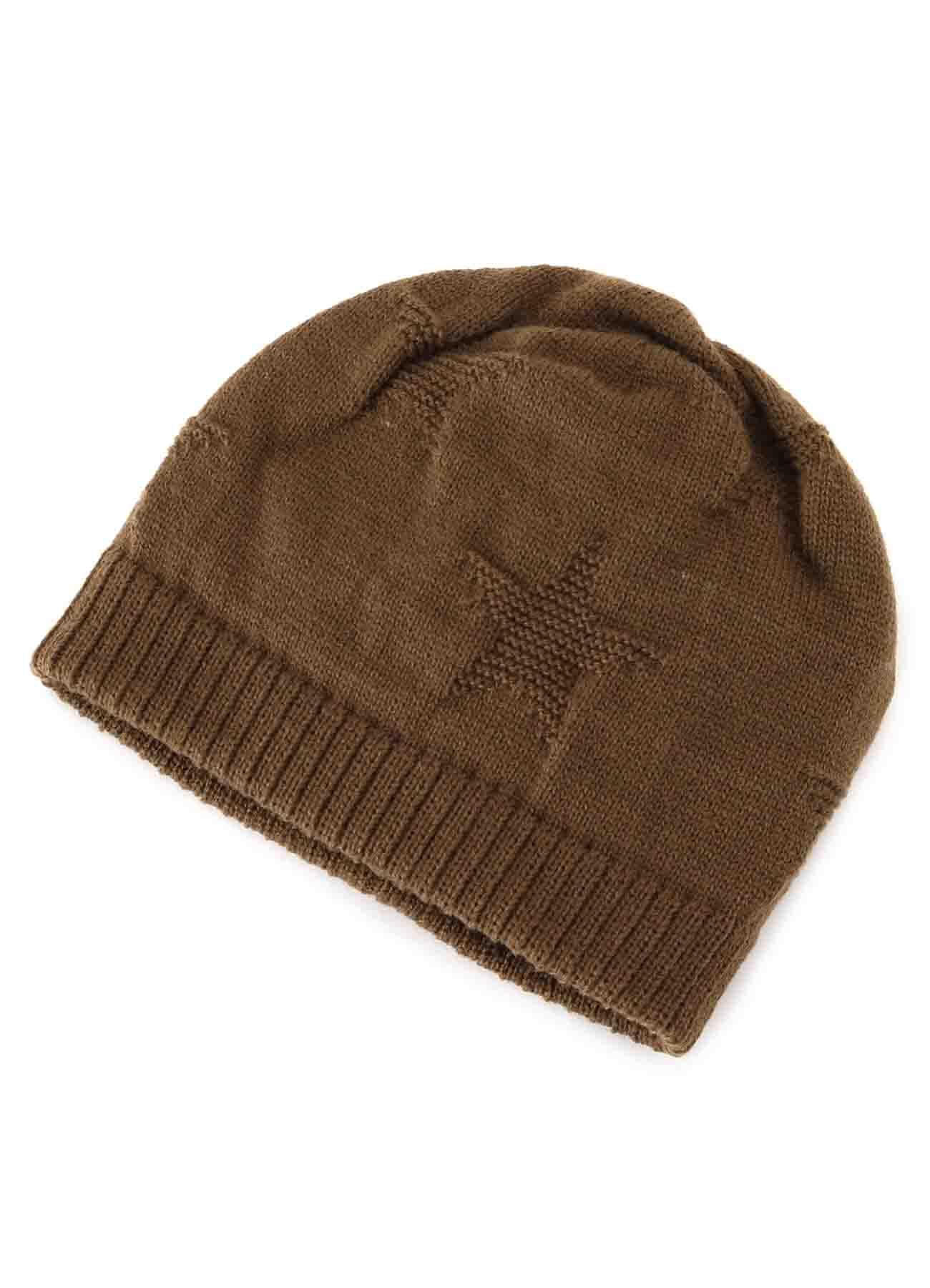 ACRYLIC STAR KNIT CAP