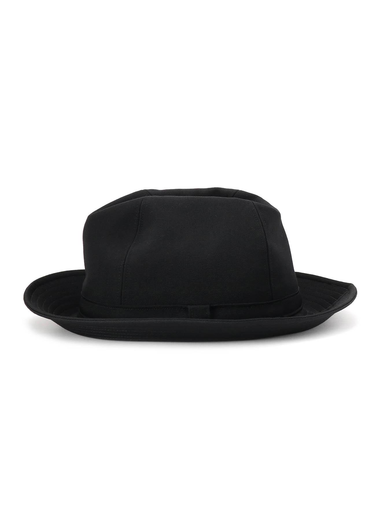 GABARDINE FEDORA HAT