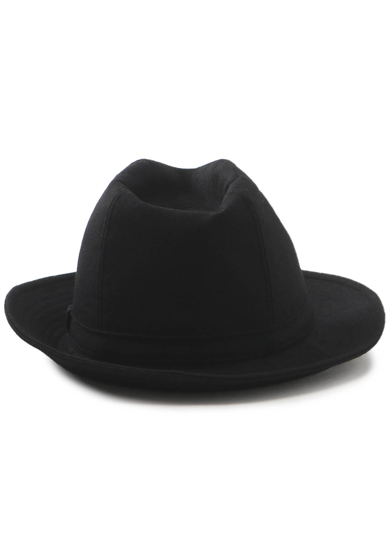 2/60 SERGE MILLED FEDORA HAT