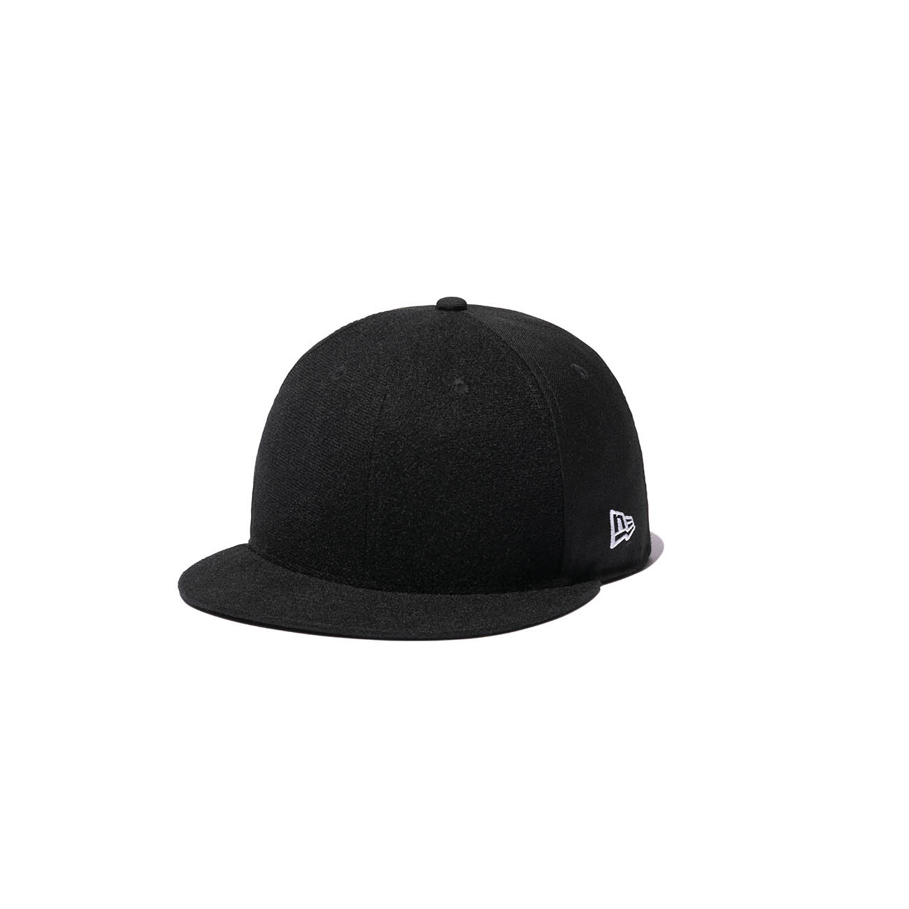 Yohji Yamamoto × New Era 59FIFTY BLACK SERGE VELCRO PATCH 100TH